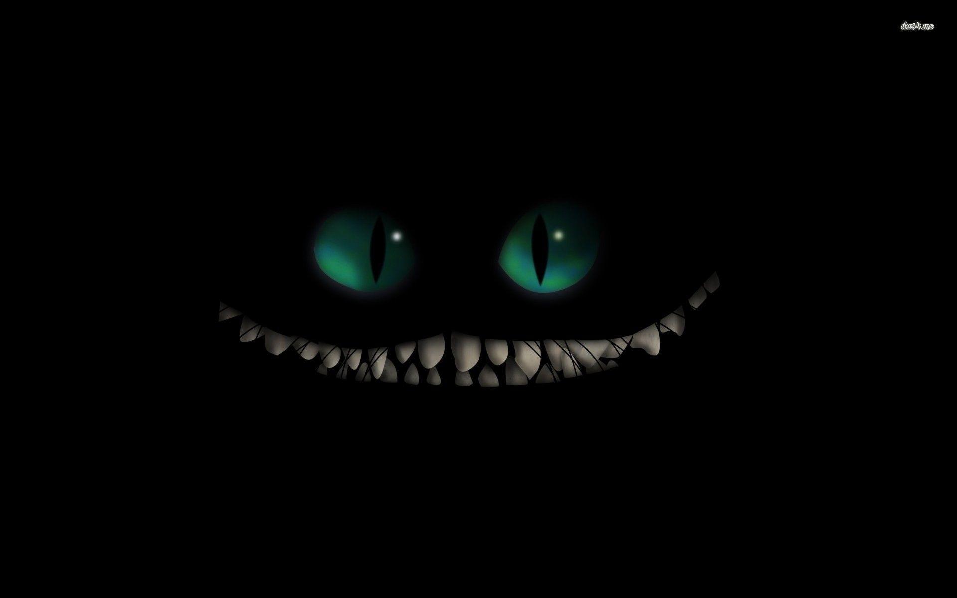 Cheshire Cat Smile Wallpaper