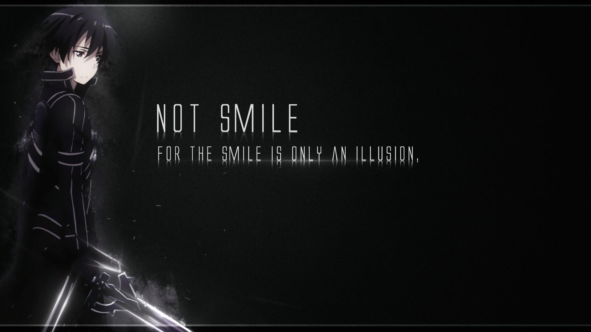 … Kirito(Sword Art Online) – Not Smile. by JuliannMiic