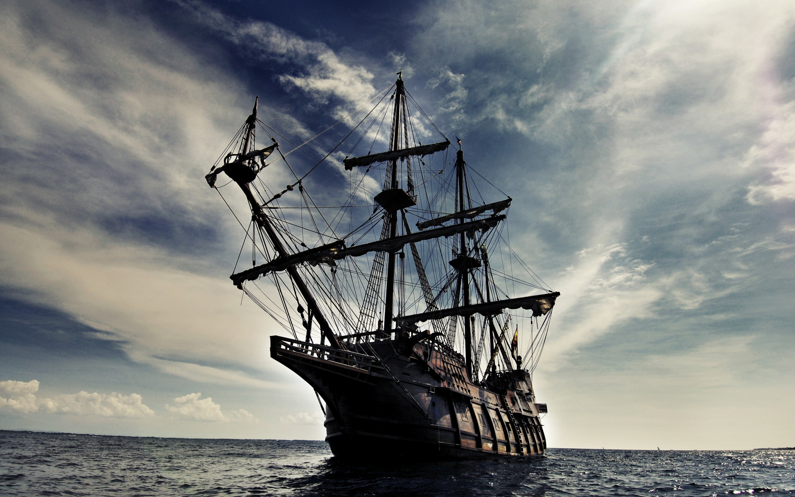 Pirate Ship Desktop Background Wallpaper with High Resolution px  786.65 KB