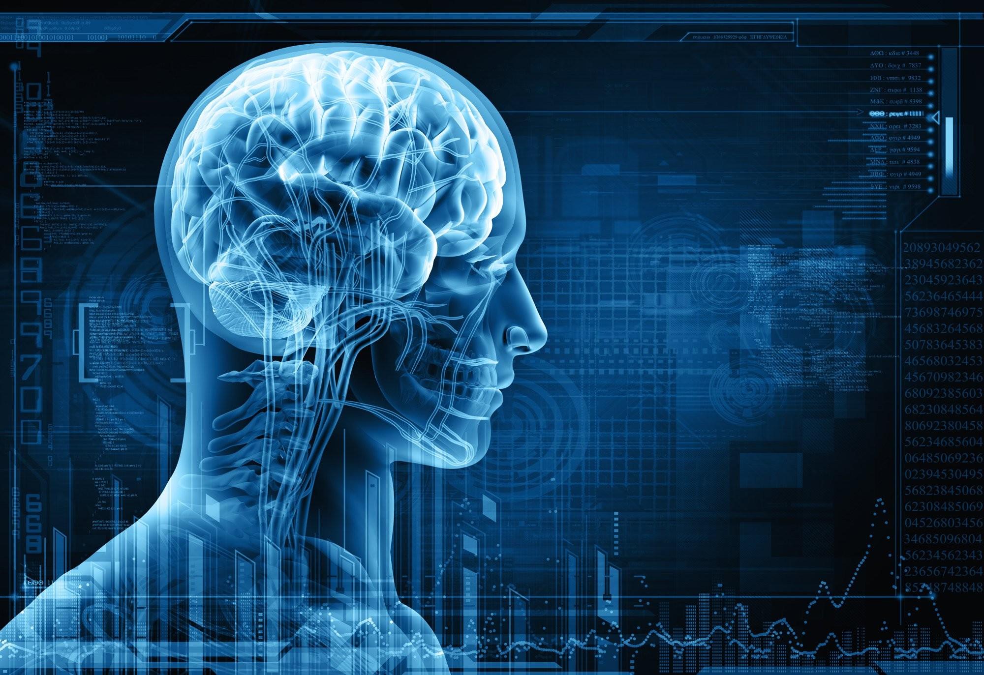 medical head skull digital 3-d x-ray xray psychedelic wallpaper .