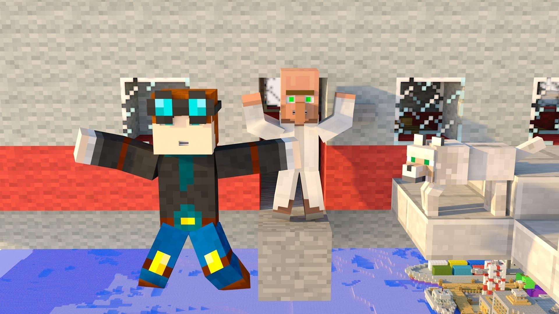 Minecraft SpeedArt #7 DanTDM , Grim & Trayaurus – YouTube