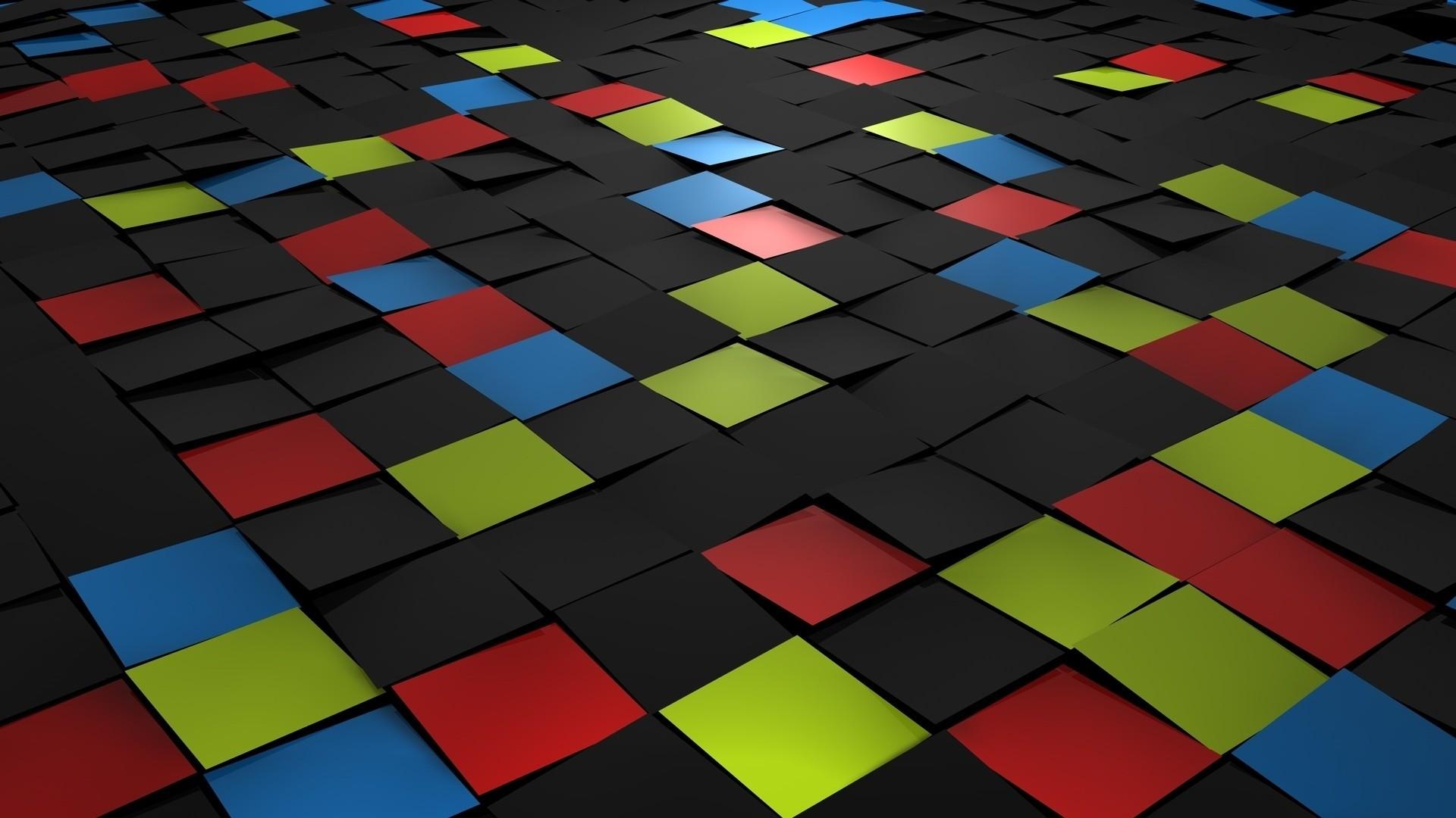Preview wallpaper square, tiles, mosaic 1920×1080
