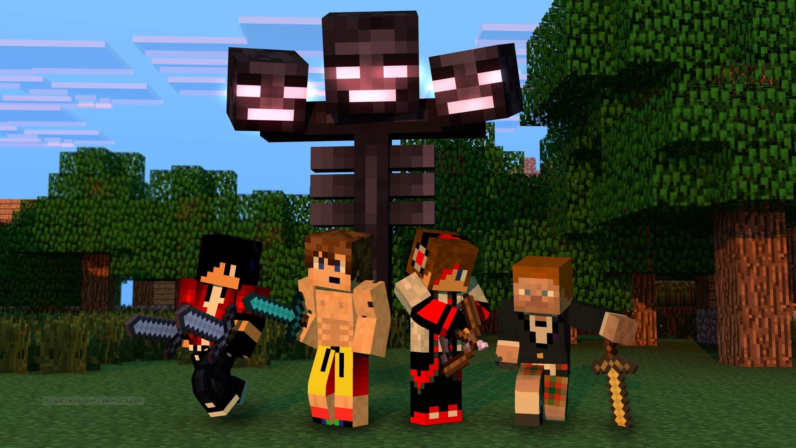 FREE HD Minecraft Wallpapers & Photo Editing System