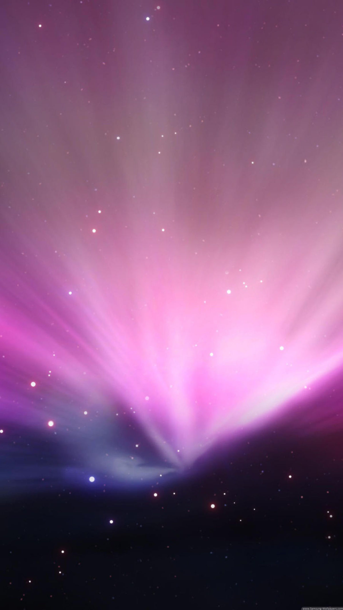 Pink Lights Aurora Lock Screen Wallpaper For Samsung Galaxy Hd Samsung Wallpapers