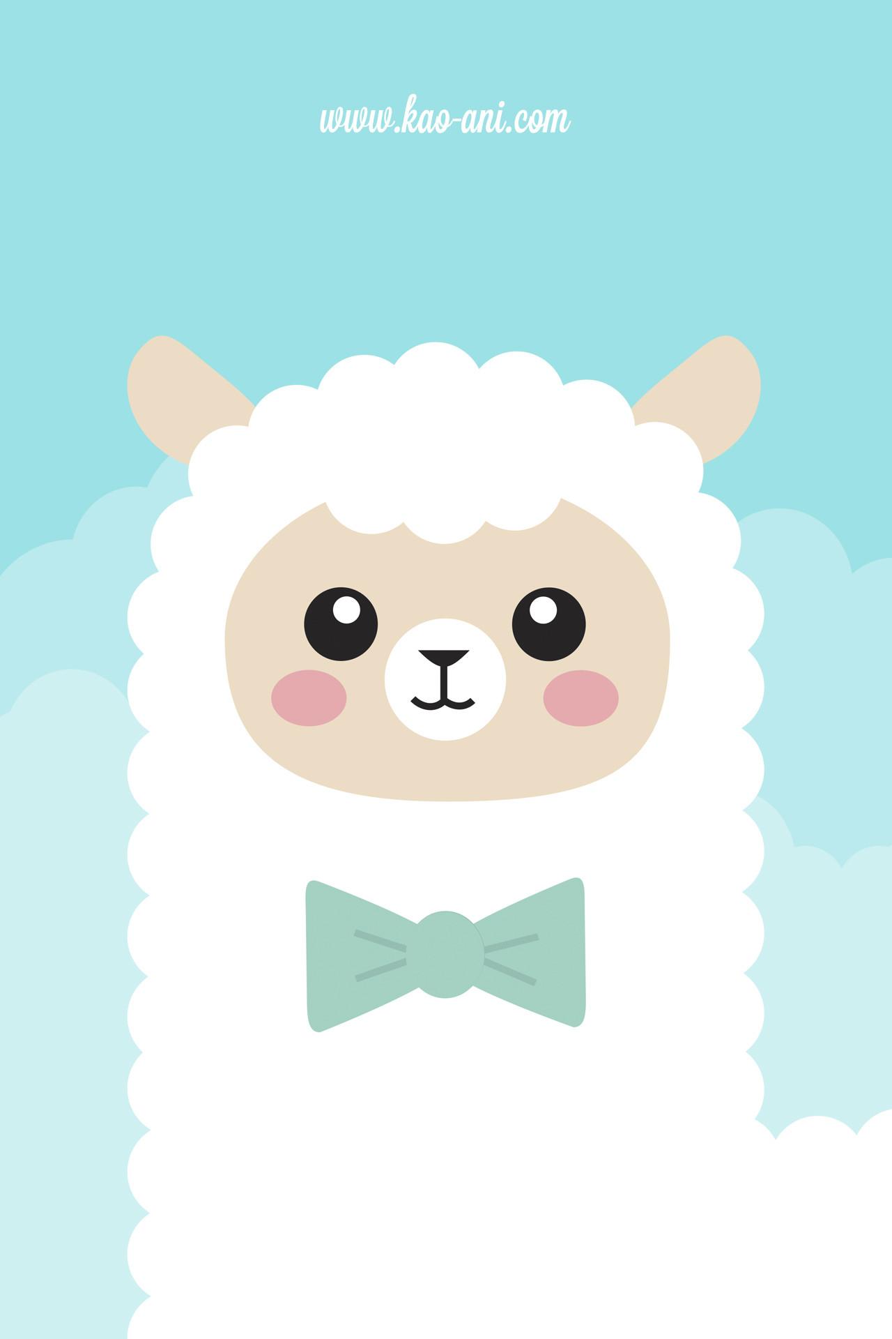 Alpaca iPhone Wallpaper – Kao-ani.com