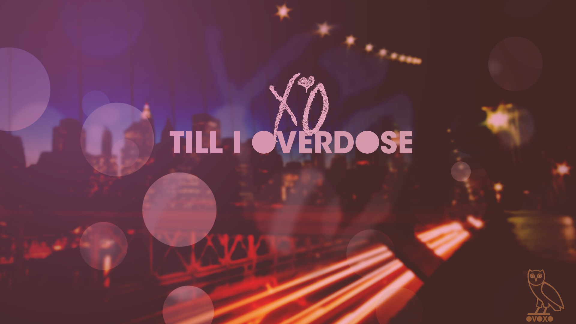 The Weeknd Till I Overdose Xo • Rap Wallpapers