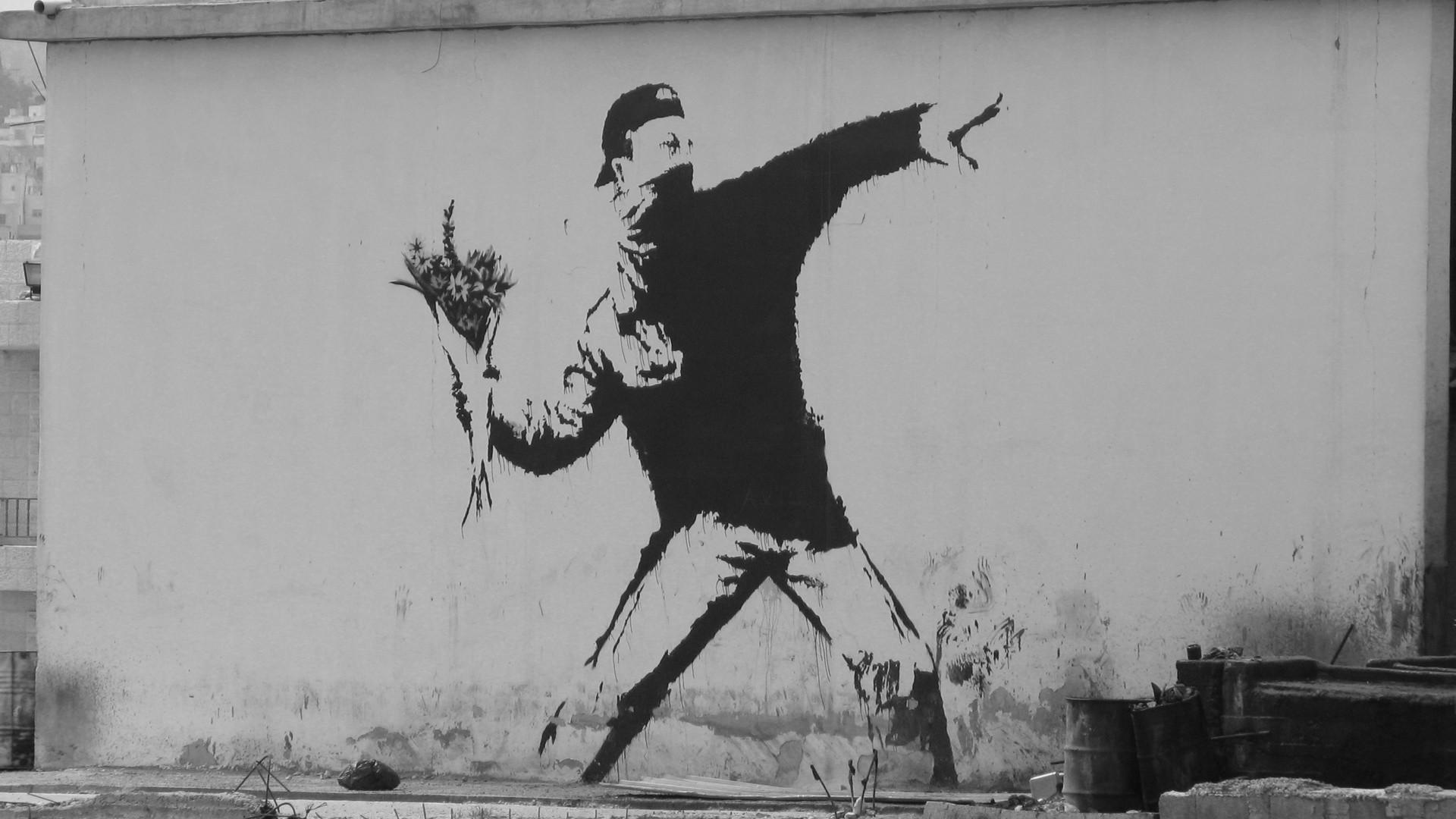 Banksy Wallpaper – WallDevil
