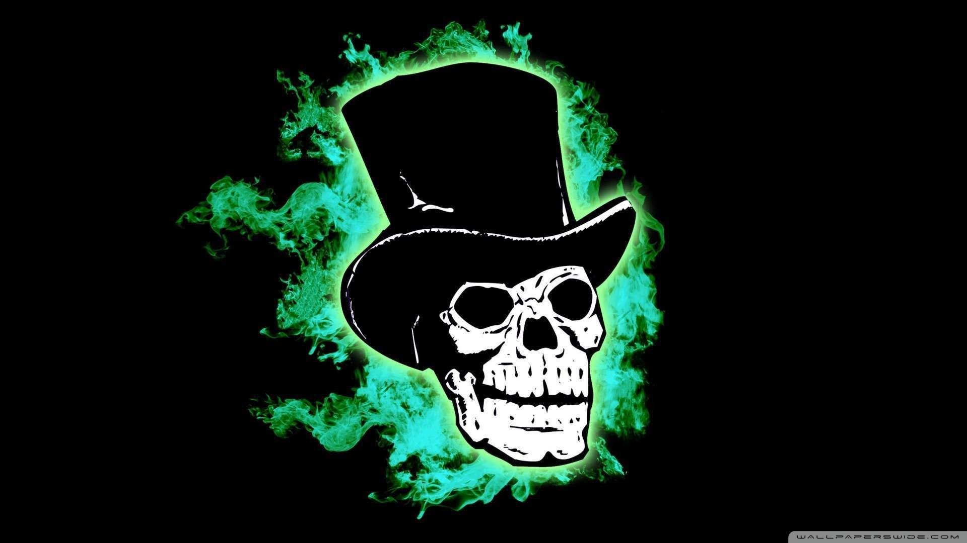 Wallpaper: Halloween Skull Wallpaper 1080p HD. Upload at January 16 .