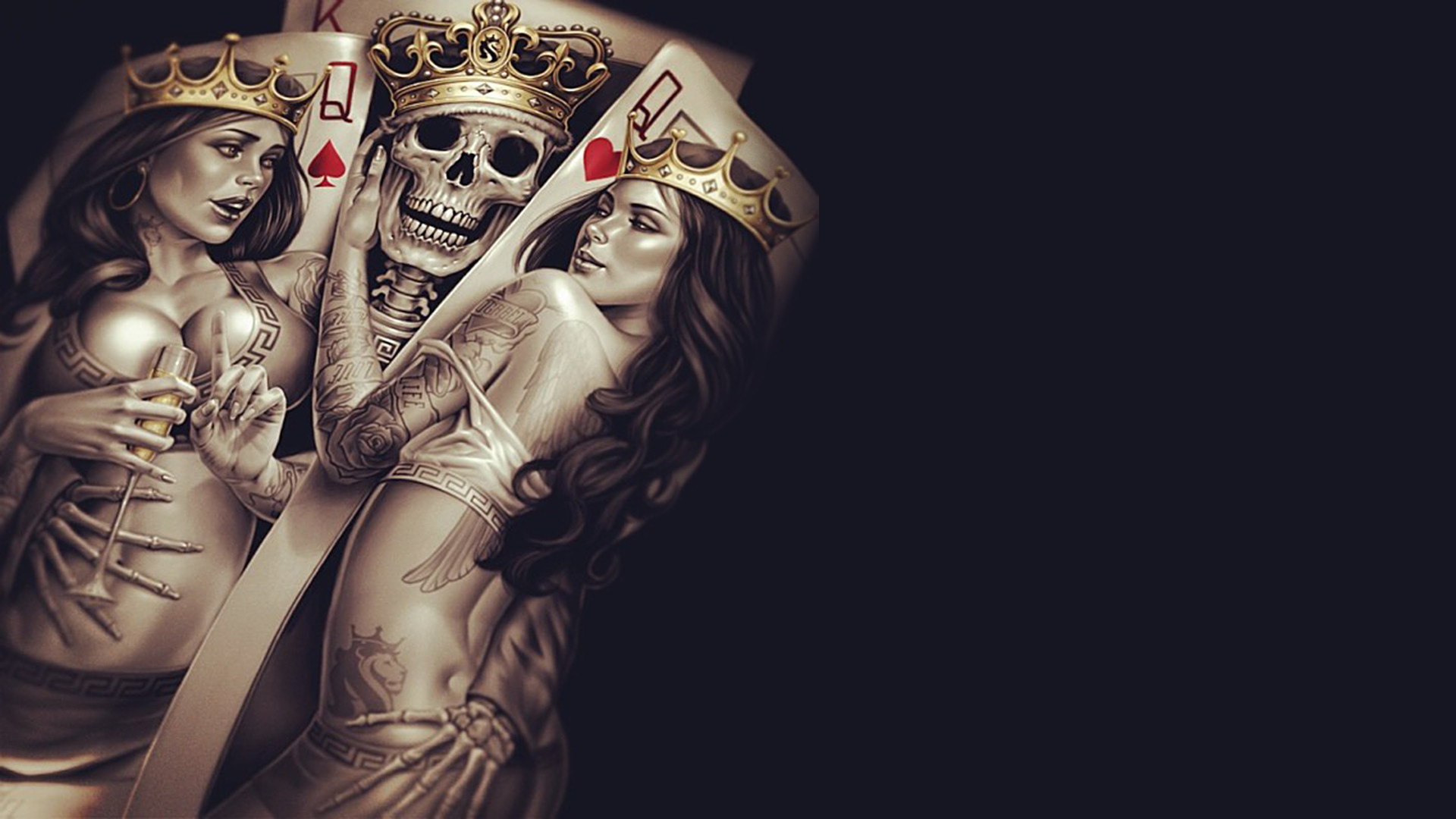 Free Skull Wallpapers | Wallpapers, Backgrounds, Images, Art Photos.