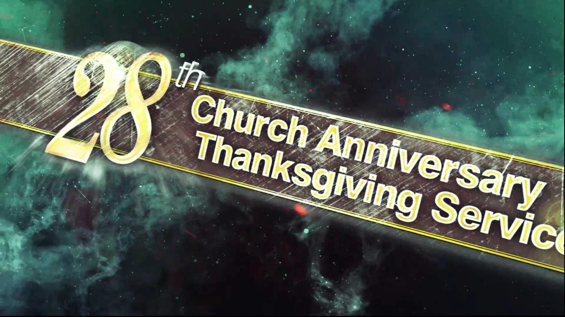 28th Church Anniversary of Manila Locale – To God be all the Glory!!!