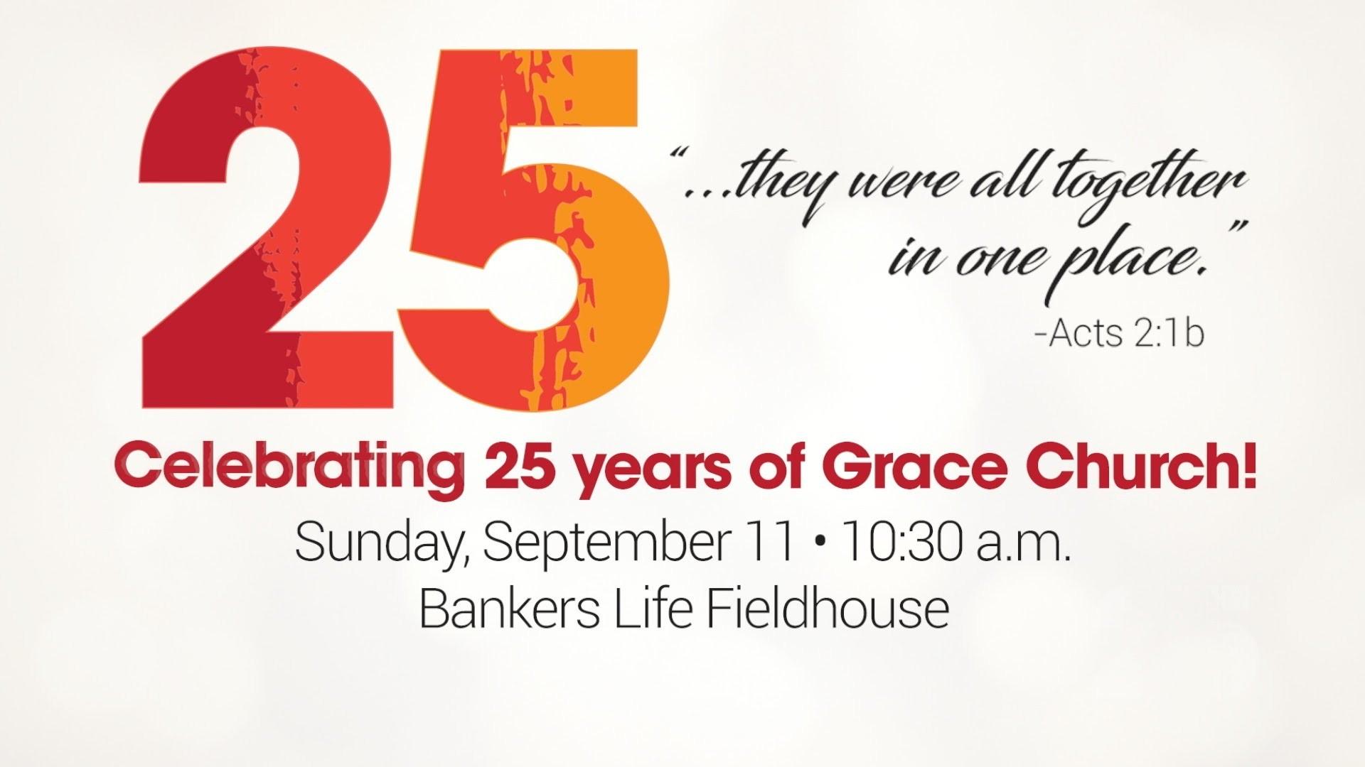 Grace Church 25th Anniversary Trailer