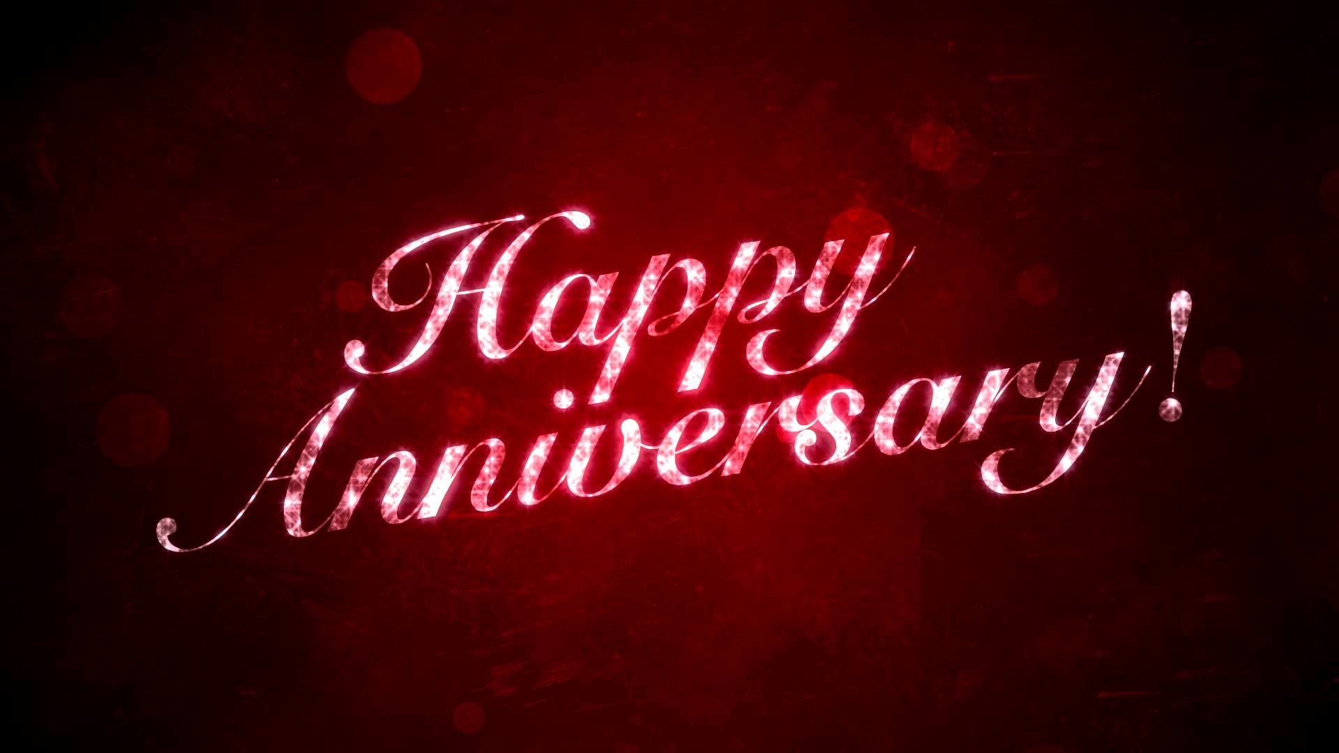 Happy Anniversary on Red – HD Background Loop – YouTube