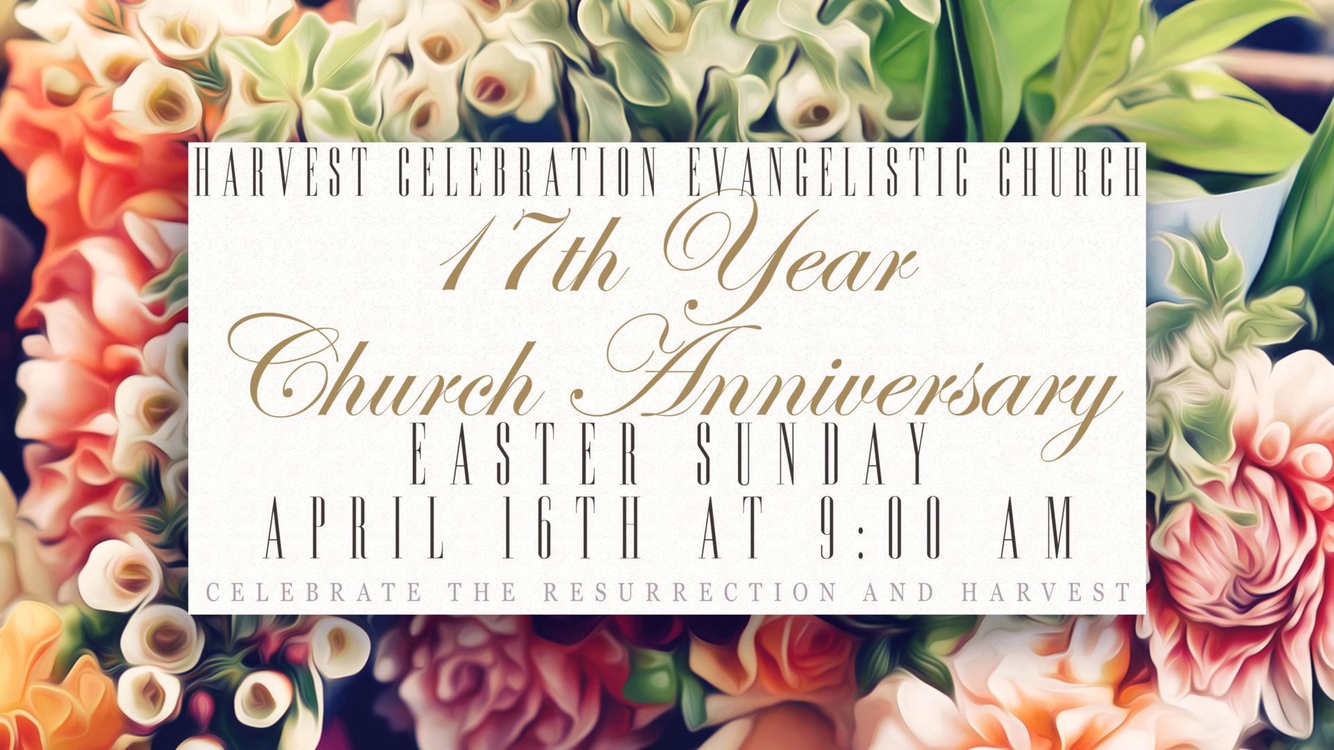 17th Annual Church Anniversary