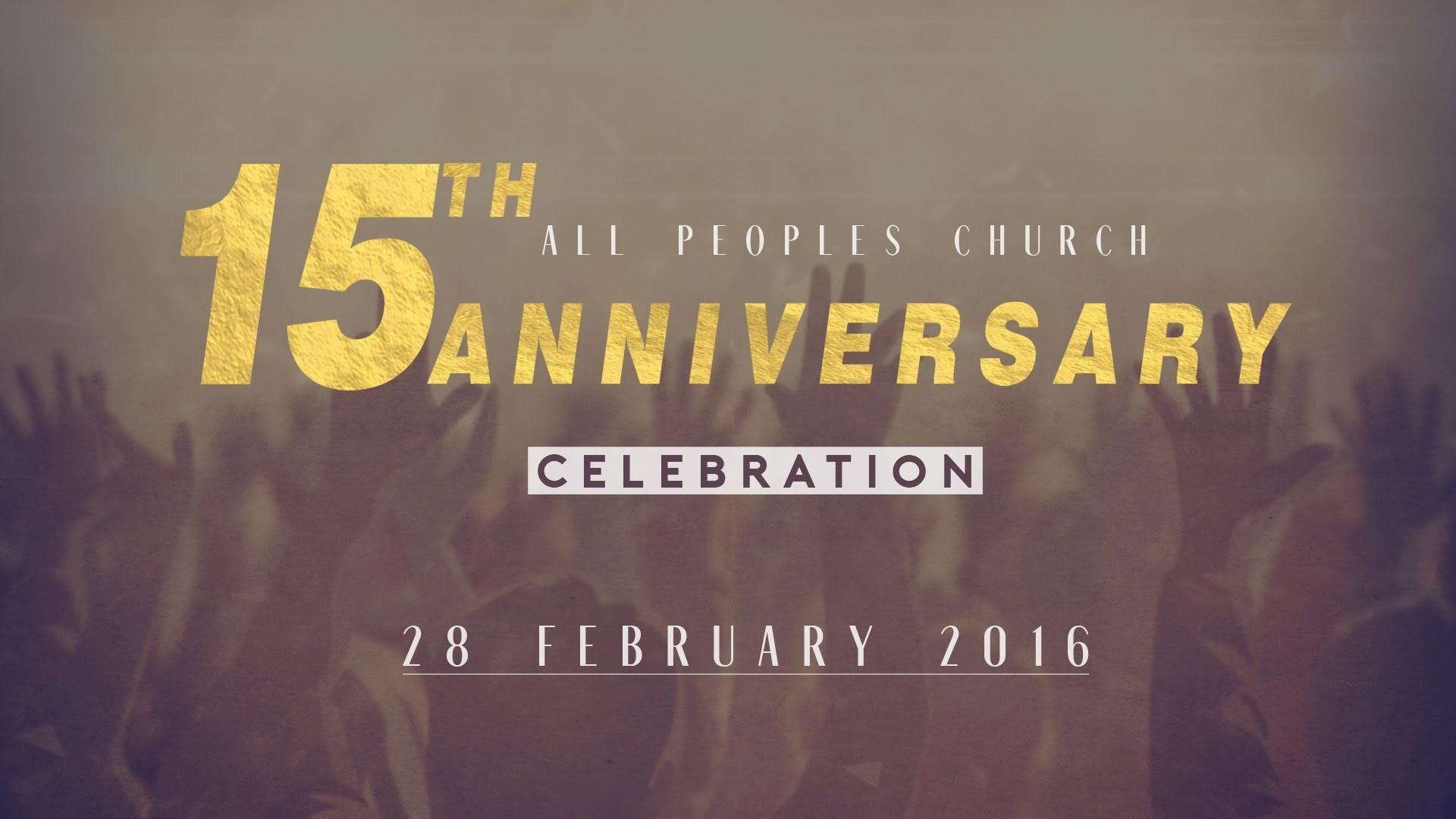 APC 15th Anniversary Celebration