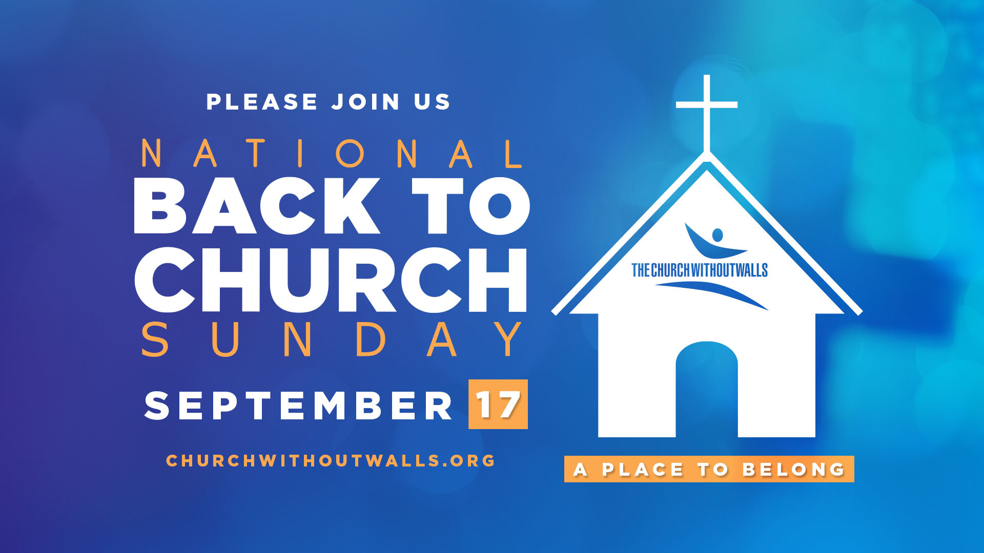 Come Back to Church with us! An overload of summer activities can often  interrupt your Sunday worship, Bible Study, and ministry work.