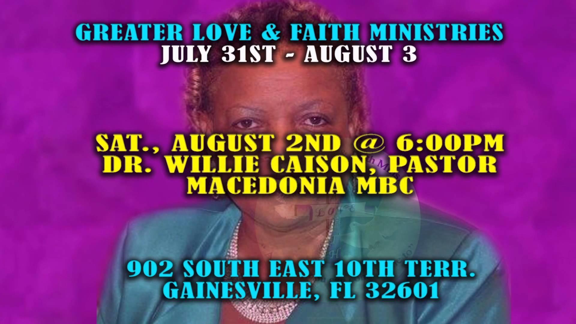 Greater Love and Faith 3rd Church Anniversary