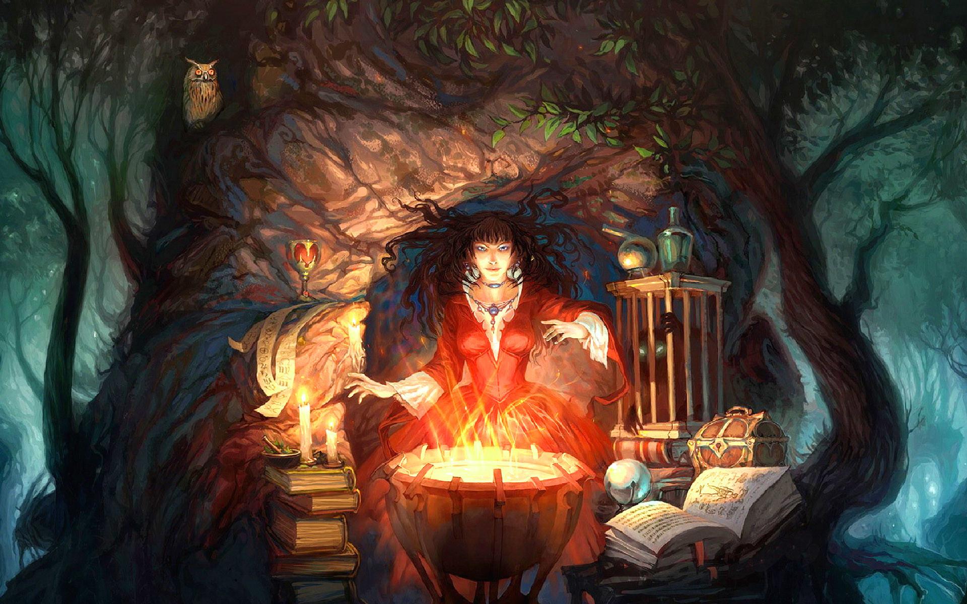 Wiccan Witch Screensaver Wallpaper – WallpaperSafari
