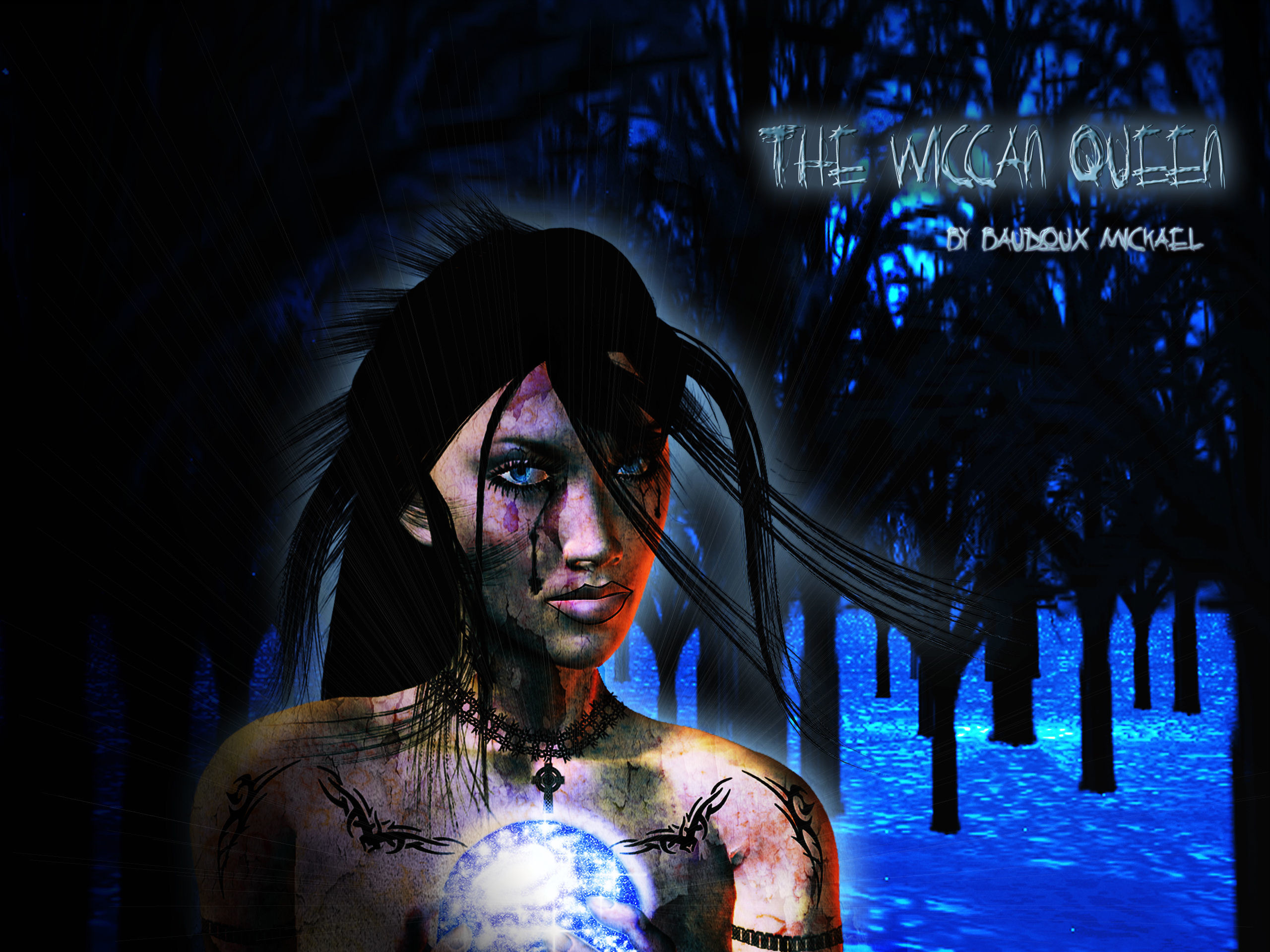 Background wallpaper, The wiccan Queen