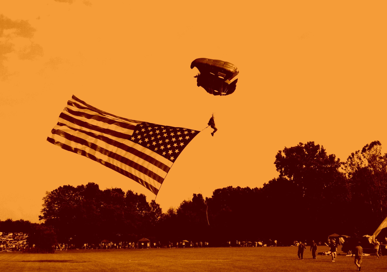 Vintage American Flag Cool Backgrounds Wallpaper