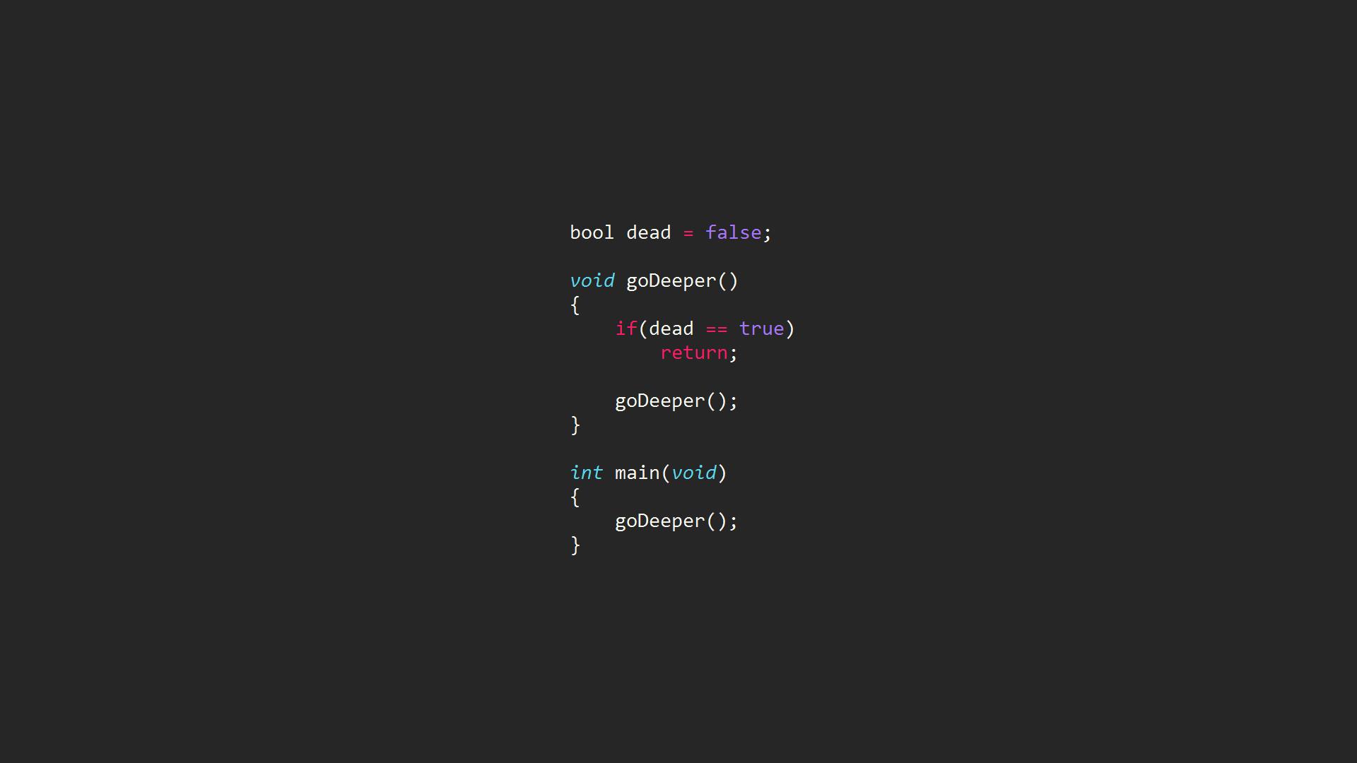 Inception code Wallpaper #2610
