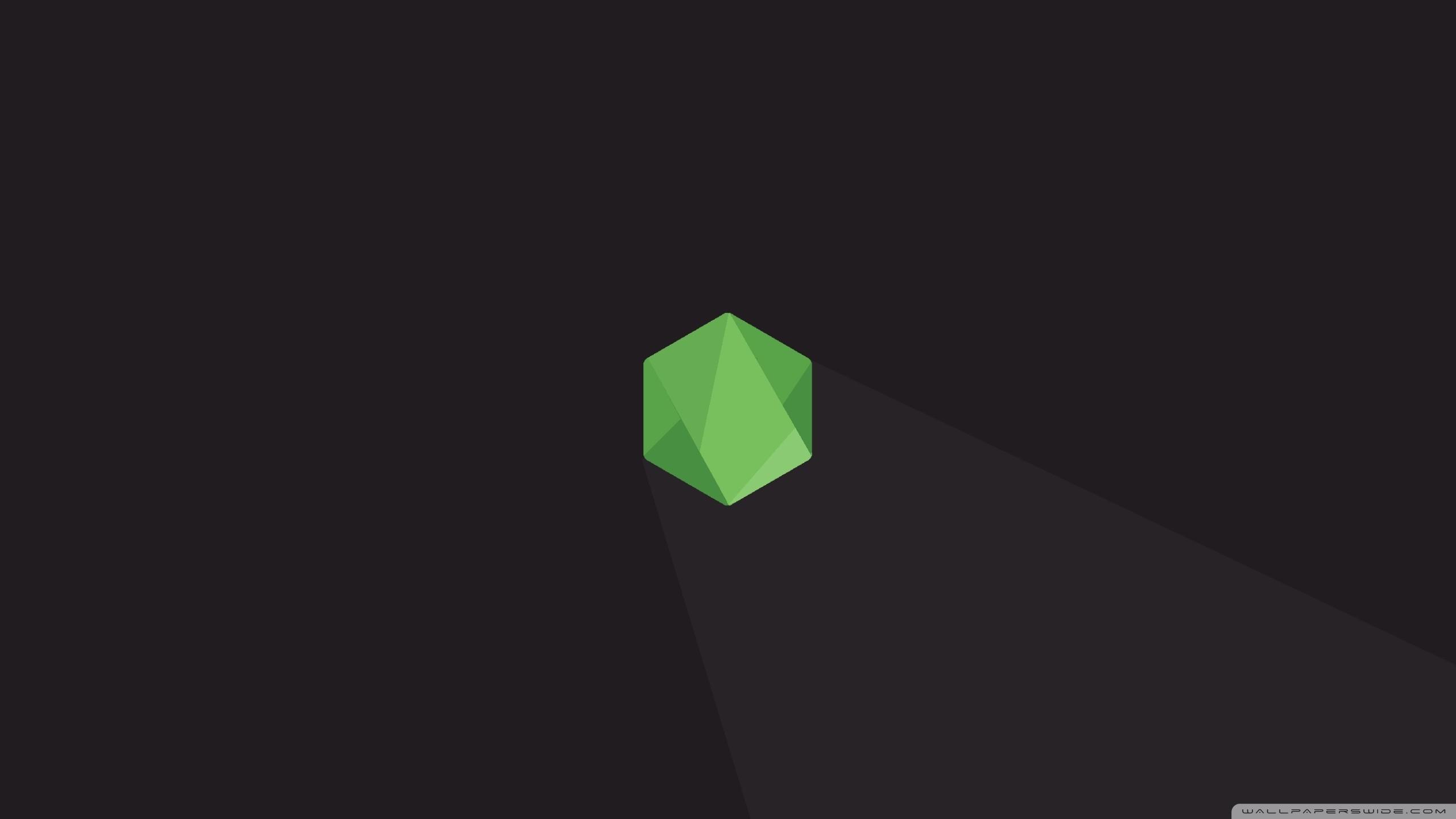 Node.js Hexagon HD Wide Wallpaper for Widescreen
