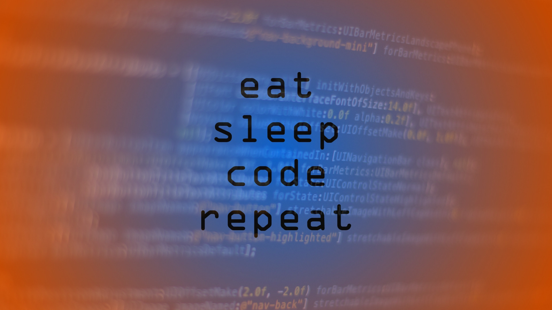 Couldn't find a good coding wallpaper, so I made my own!