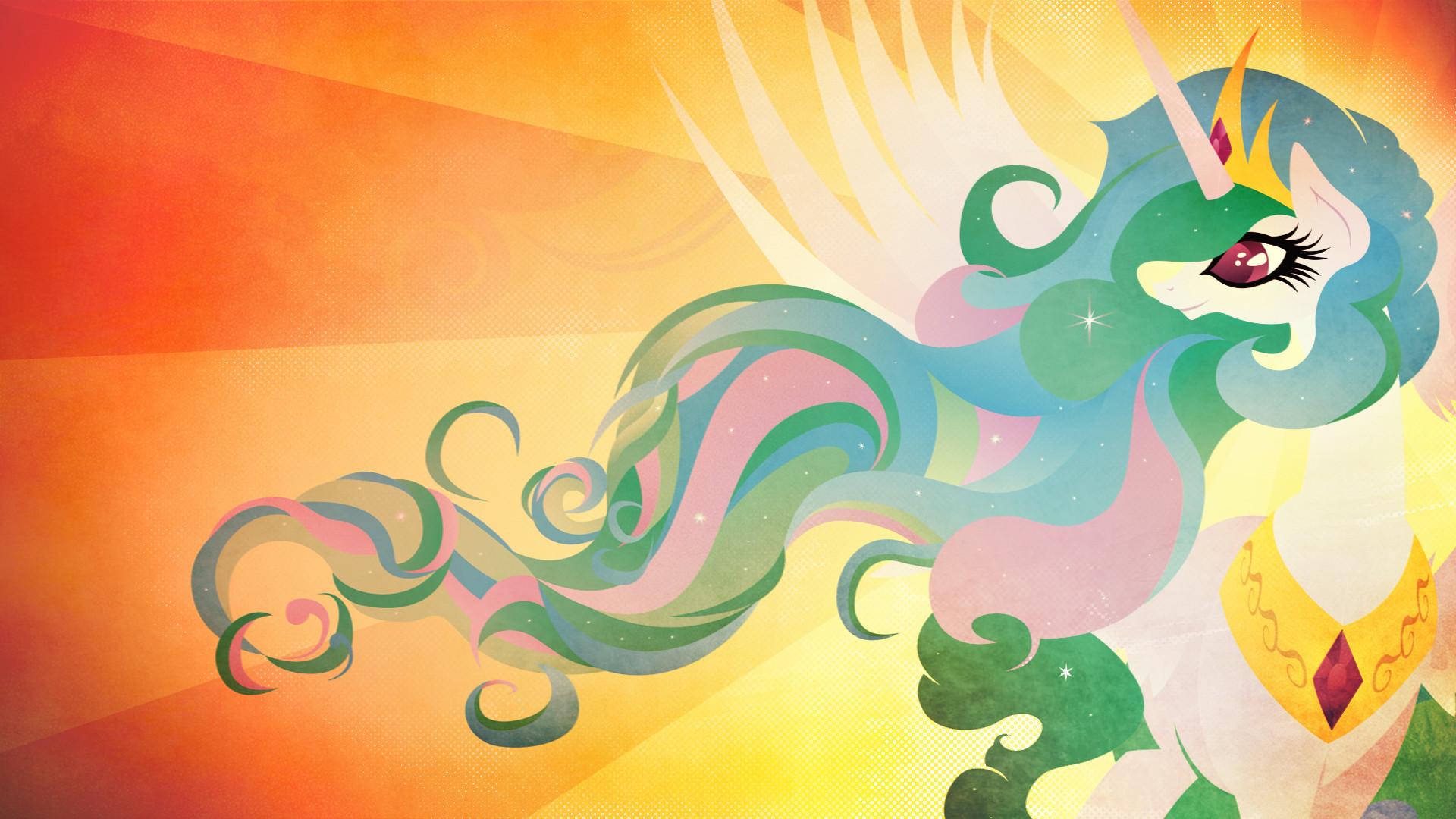 Princess Celestia – Praise the Sun by Rariedash