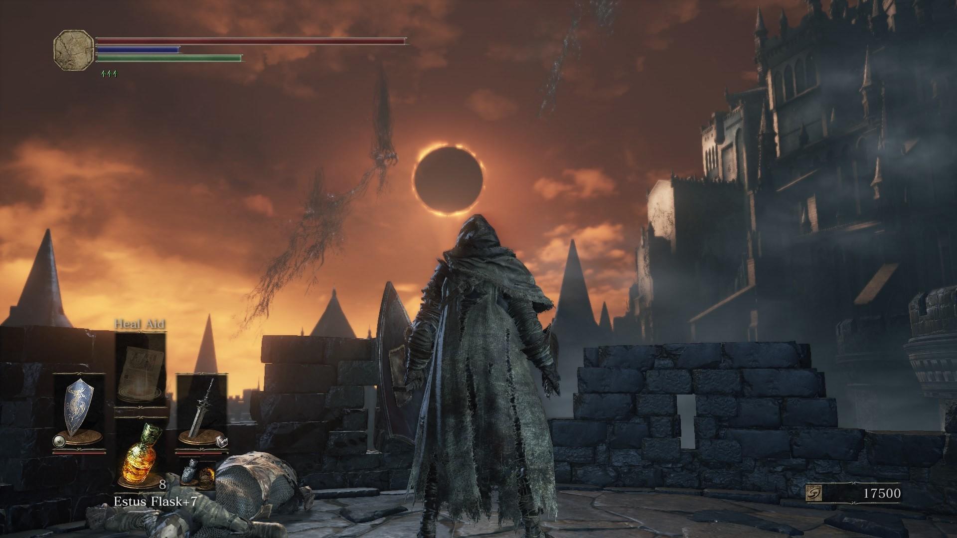 Dark Souls 3 Review Screenshot Wallpaper Praise the…Eclipse