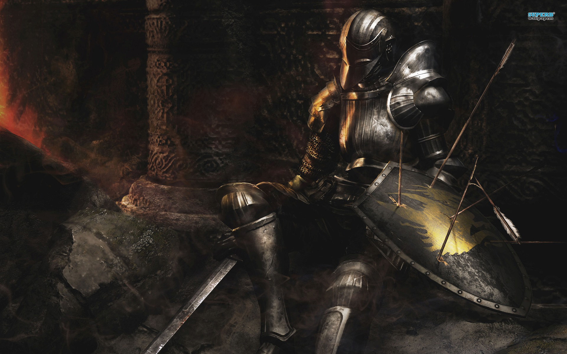 Post Class level and normal eq. GO!: Wanderer level 63 silver knight armor