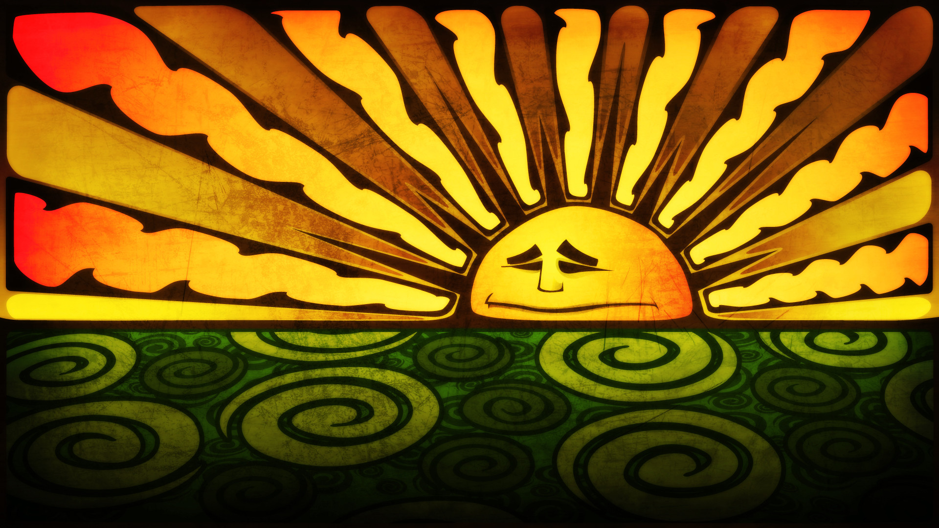 Sleepy Sun Wallpaper Sleepy, Sun, By, Colpo