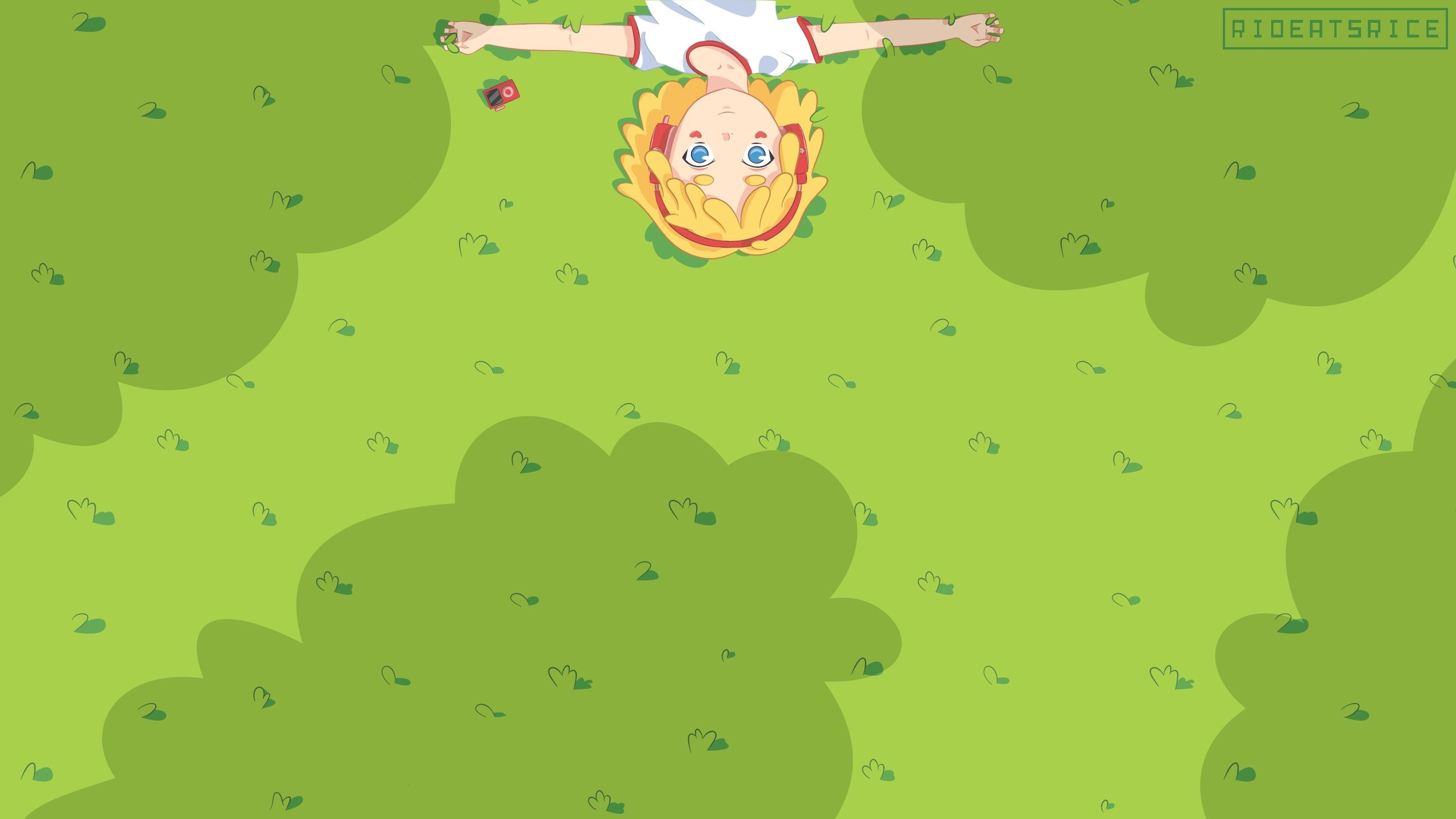 Anime Art Rioeatsrice Music Love Cute Teen Girl Pretty Kawaii Kawais  941726