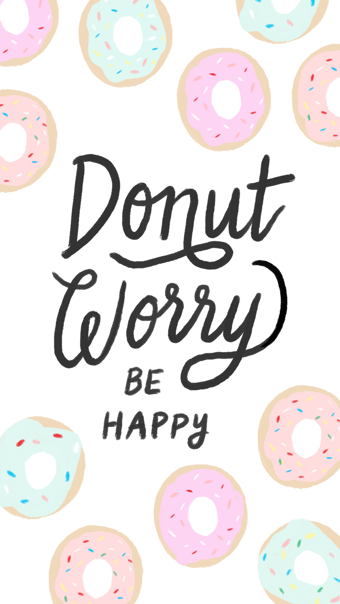 iphone-donut-worry.png (1080×1920)   Wallpapers   Pinterest   Wallpaper,  Donuts and Phone
