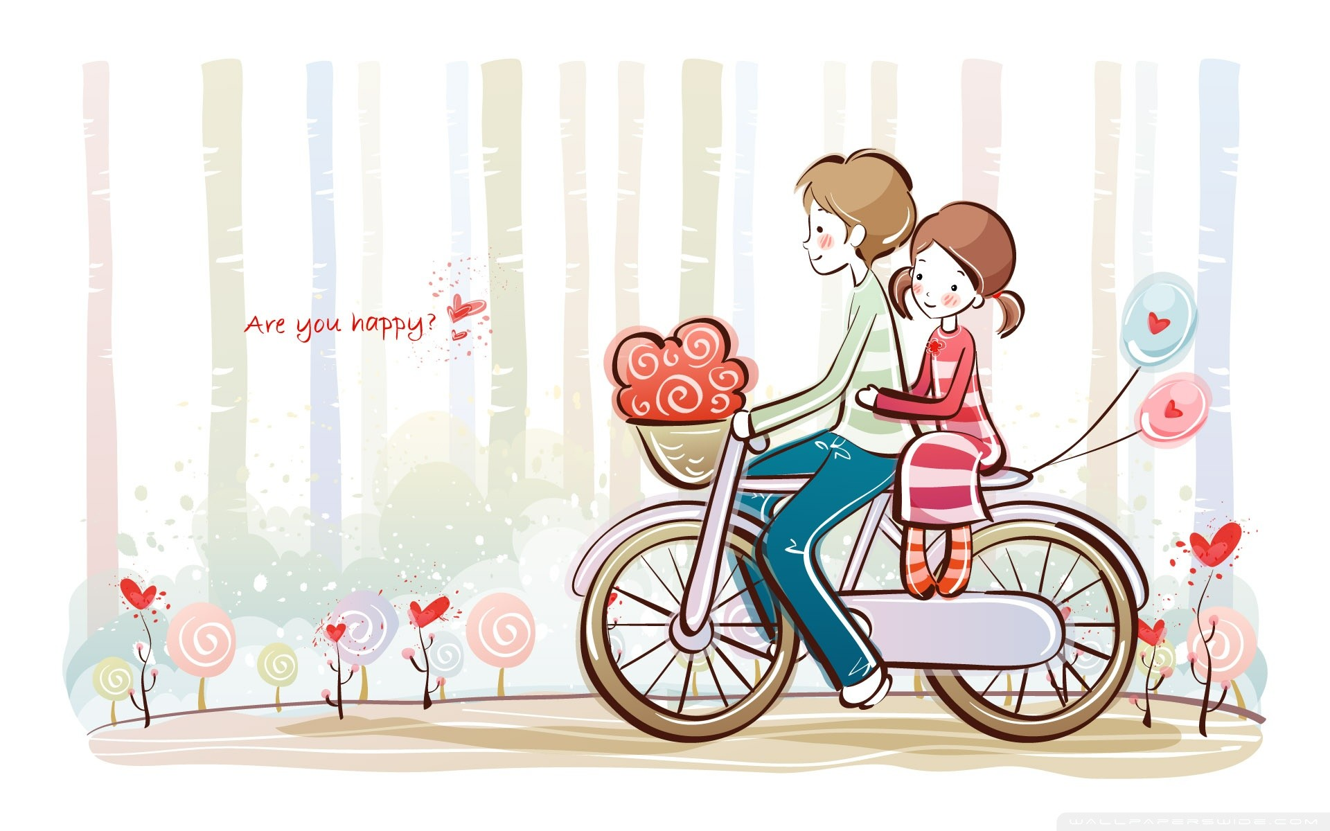 Cute couples HD wallpapers