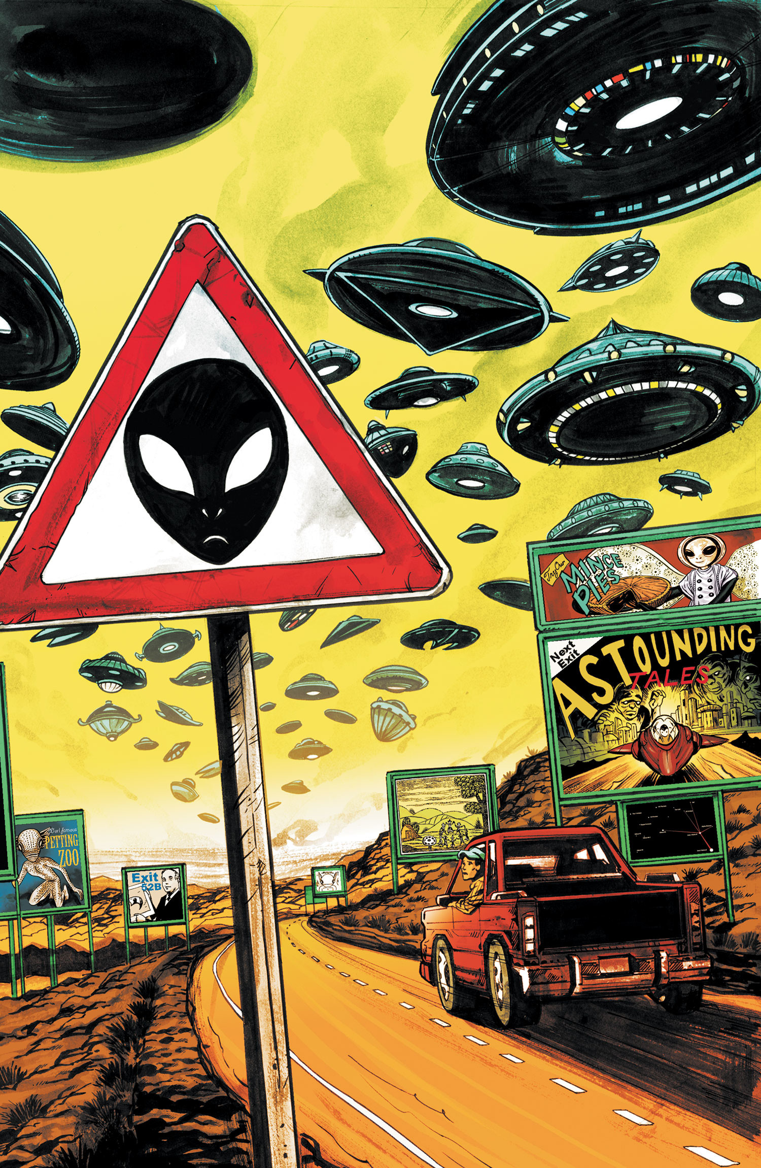 SAUCER COUNTRY #6 – In this special stand-alone issue, discover the history