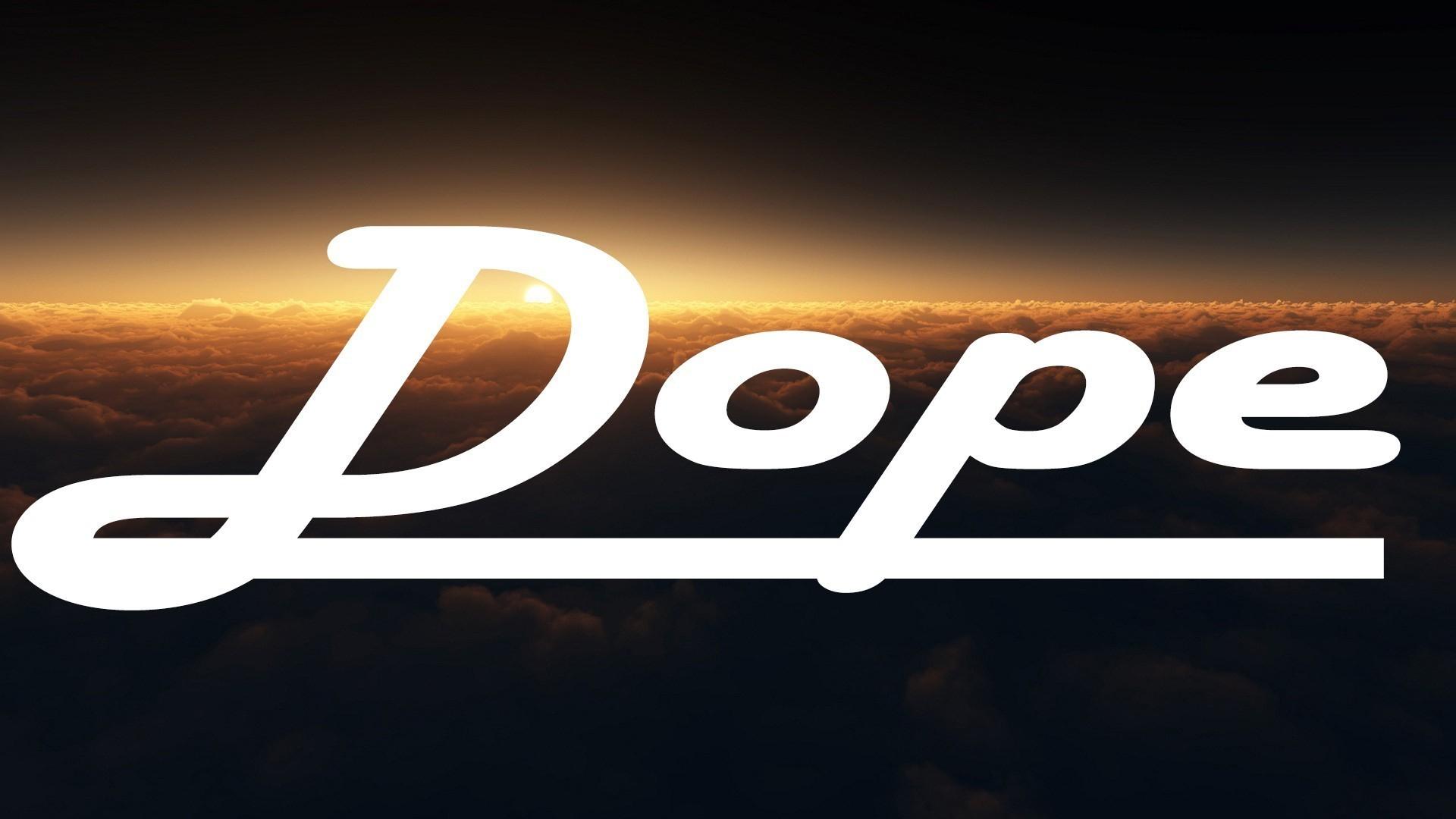 Dope Logo Wallpaper By