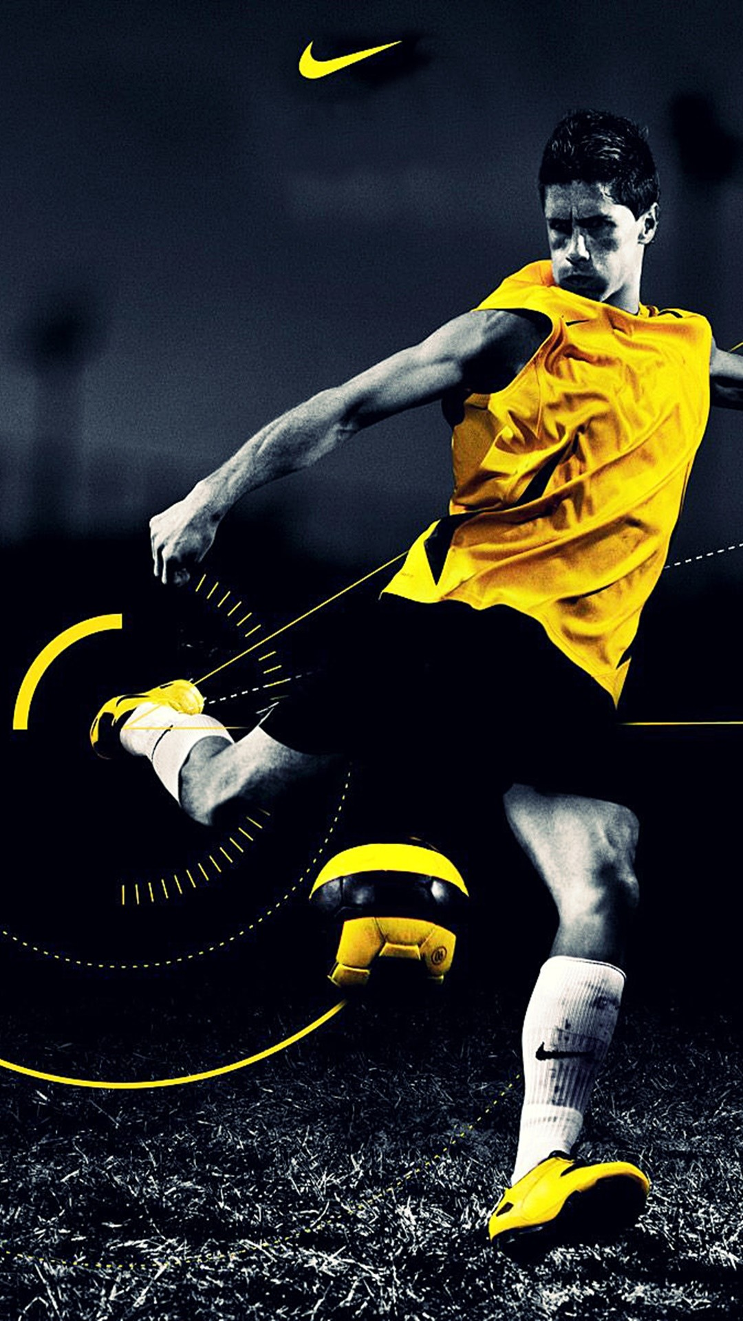 ↑↑TAP AND GET THE FREE APP! Sport Football Player Fernando Torres Black  Yellow · App WallpaperWallpaper BackgroundsDope …