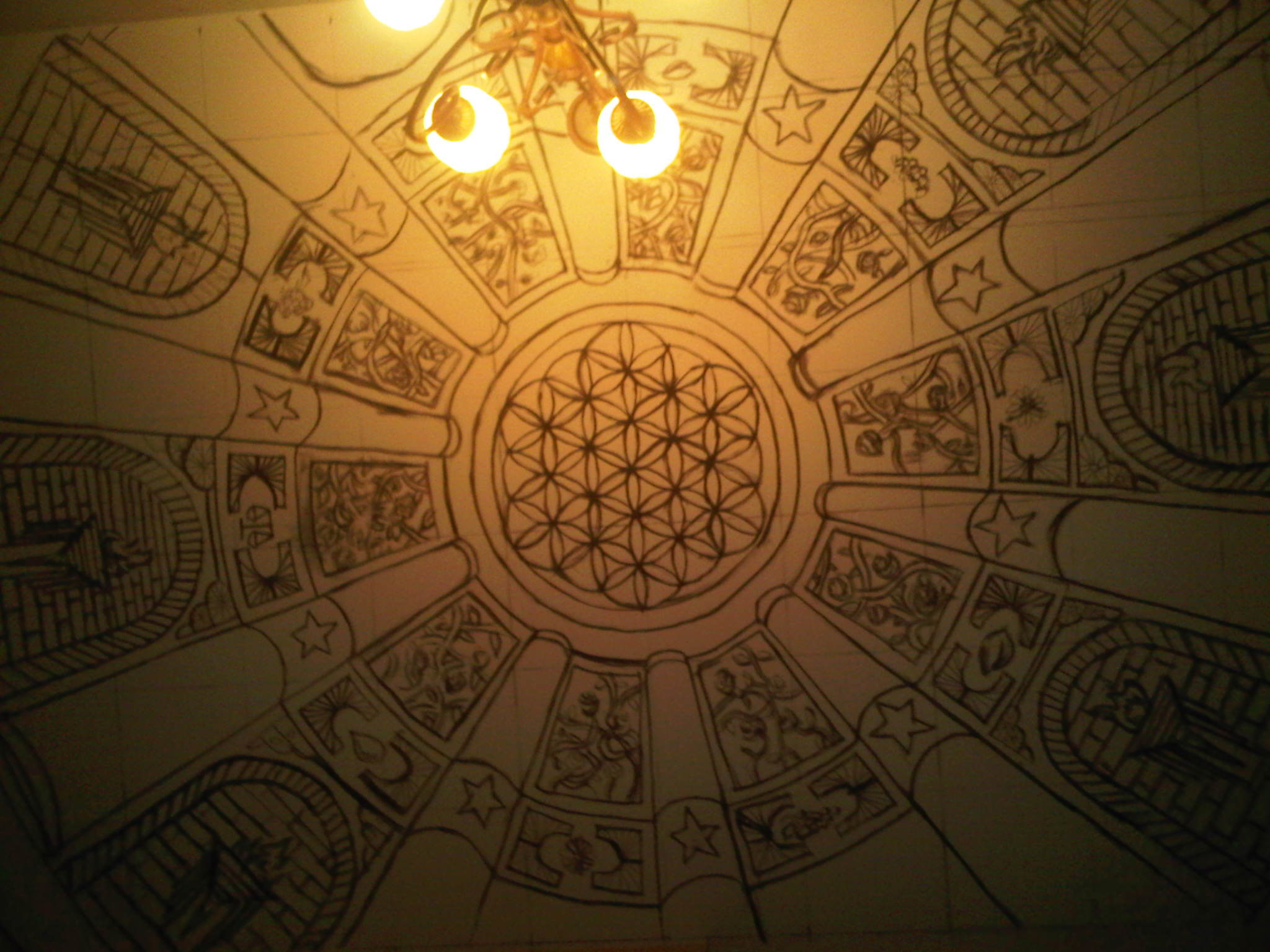 Labor Temple Project – Last nights Progress Preview was fantastic… » The Flower  of Life