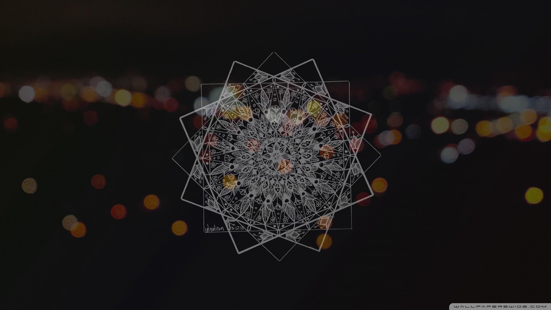 Mandala HD desktop wallpaper : Widescreen : High Definition
