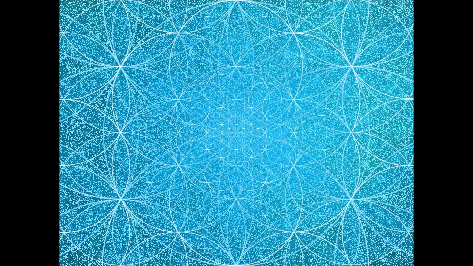 Expressing with flower of life