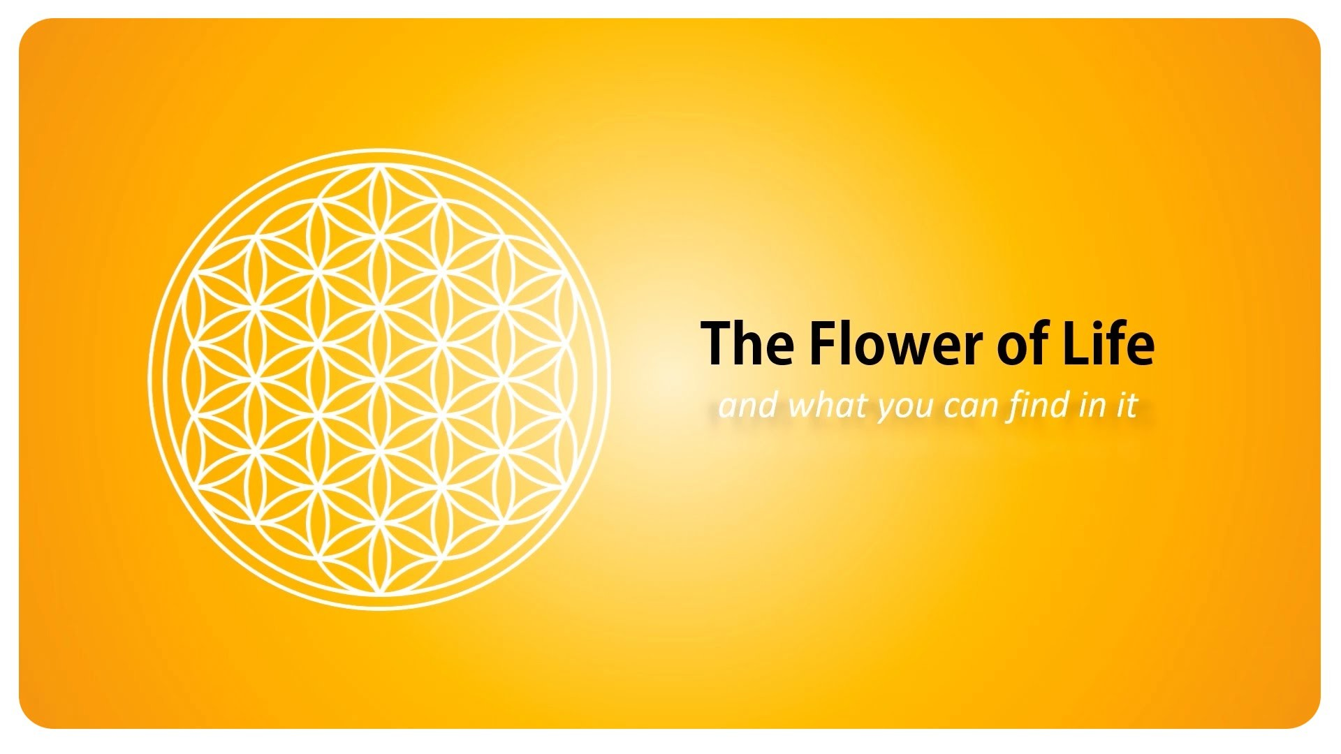 The Flower of Life and what you can find in it – sacred geometry – YouTube