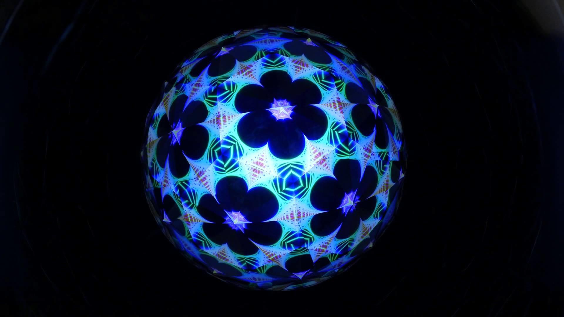Flower of Life Kaleido-sphere