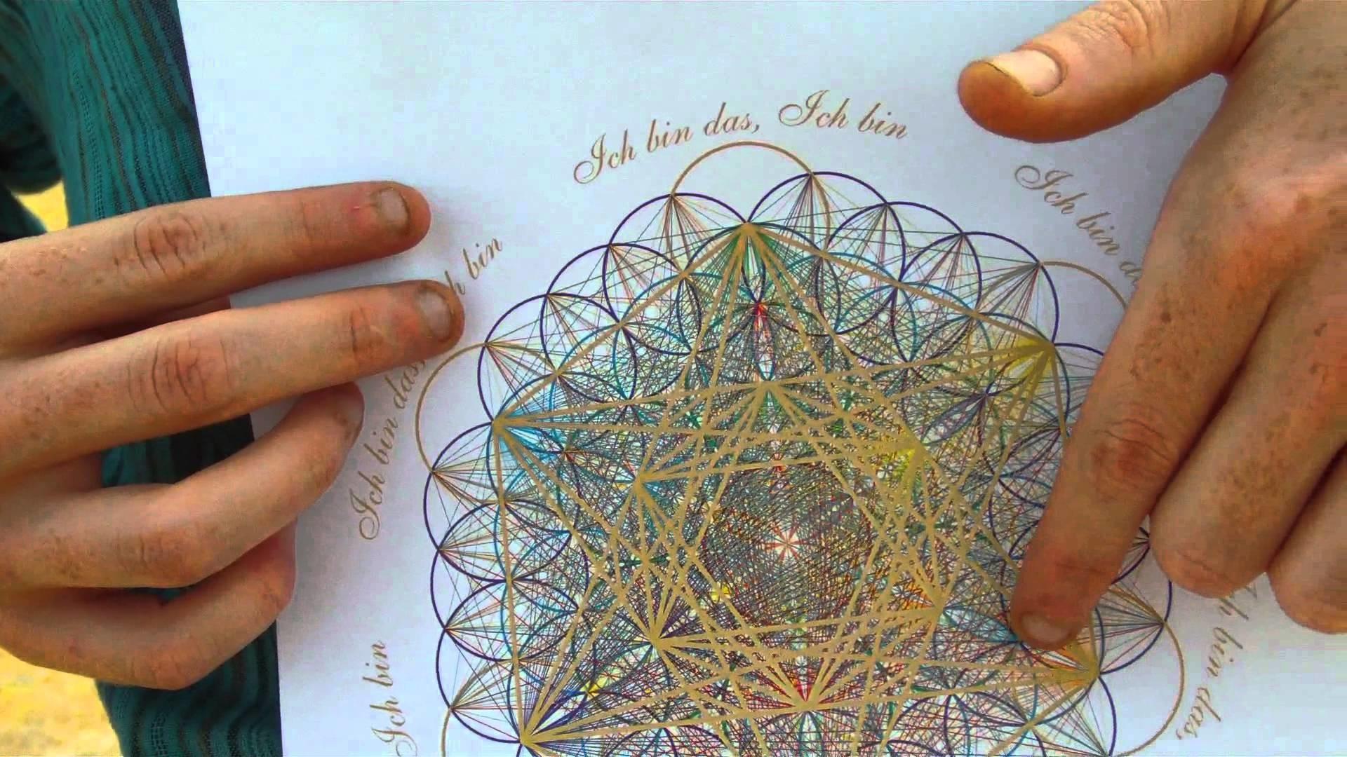 The Flower of Life & Metatron Cube