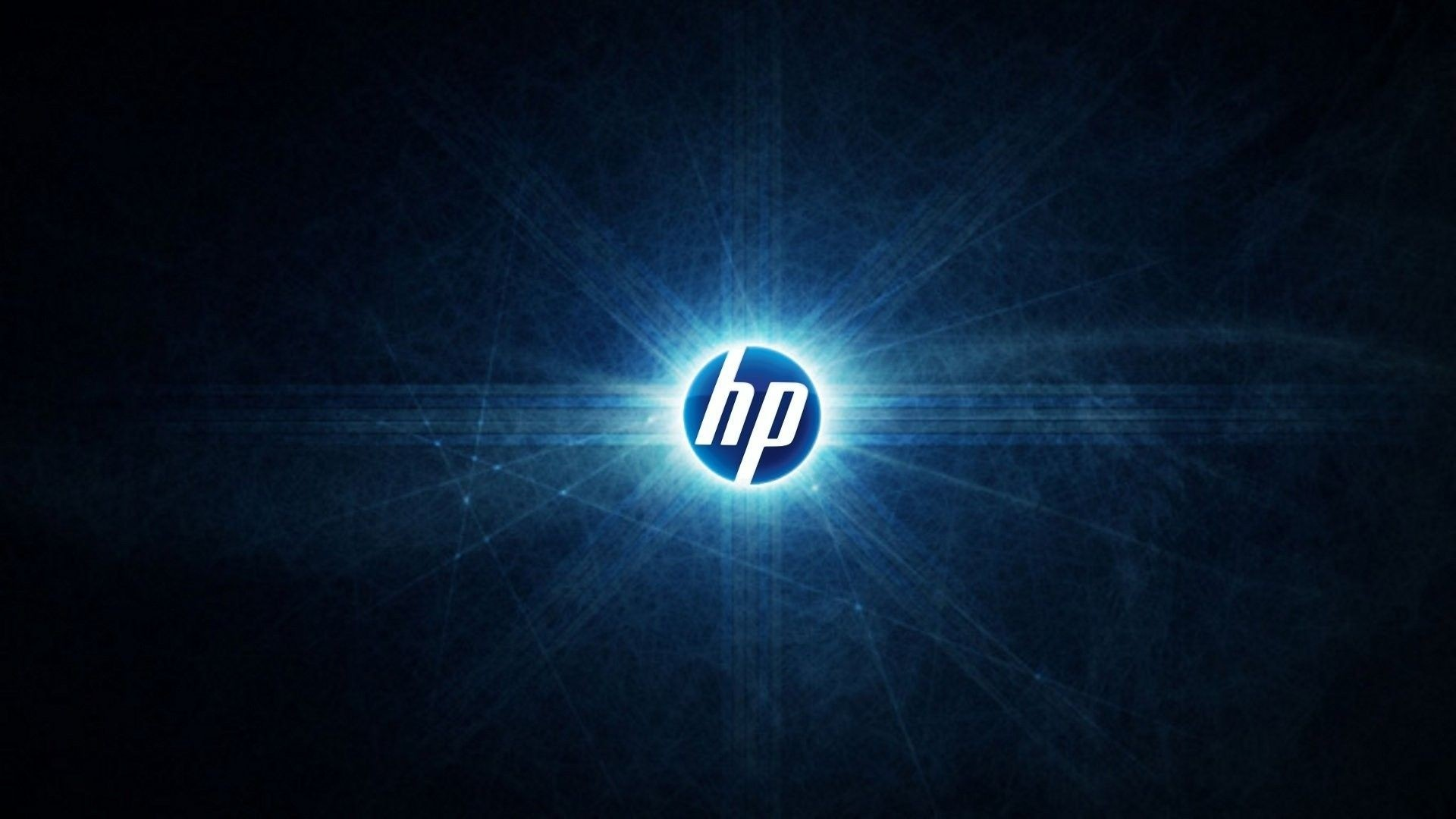 Preview wallpaper hp, logo, abstract 1920×1080