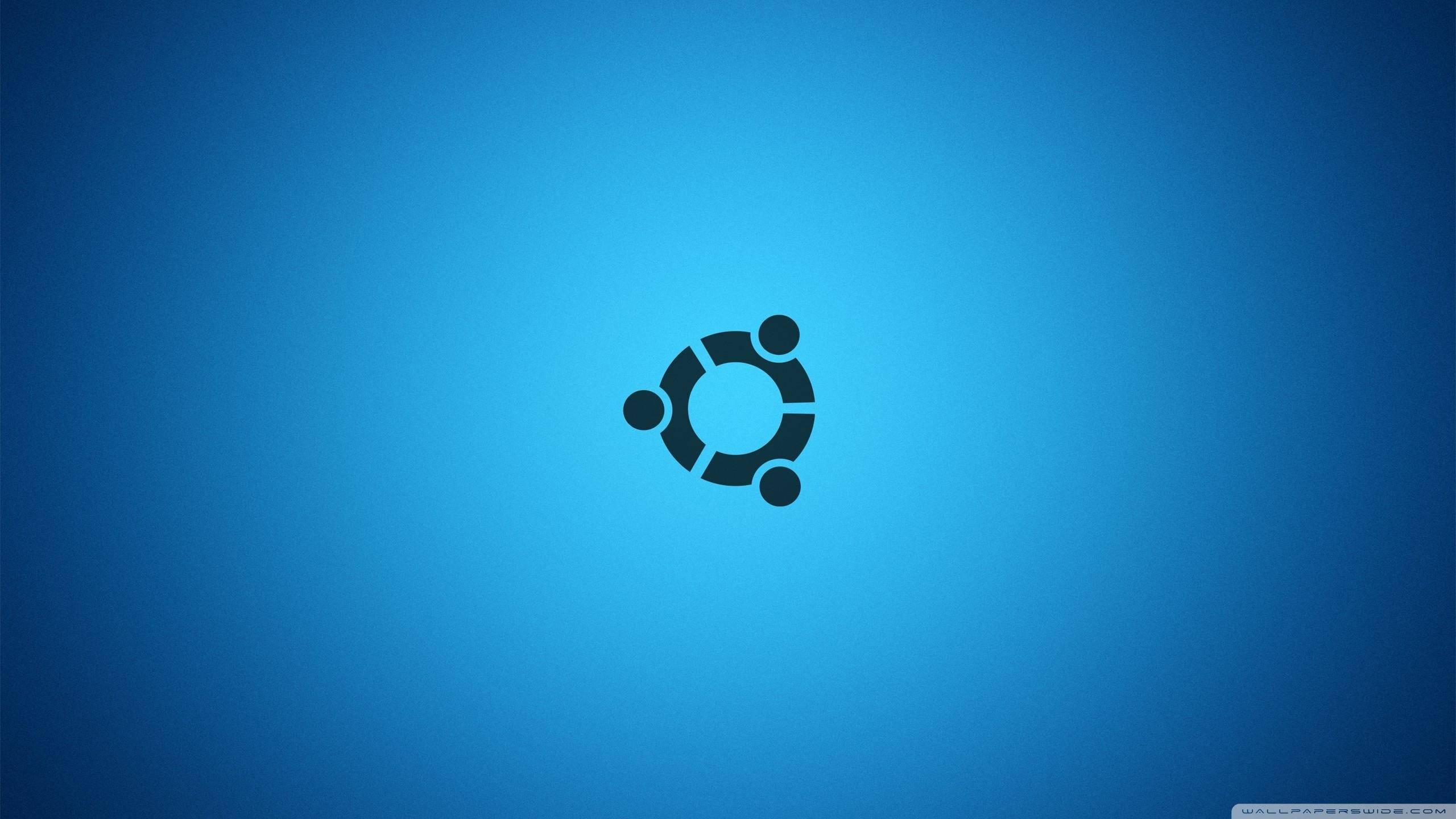 Ubuntu Desktop Blue HD Wide Wallpaper for Widescreen