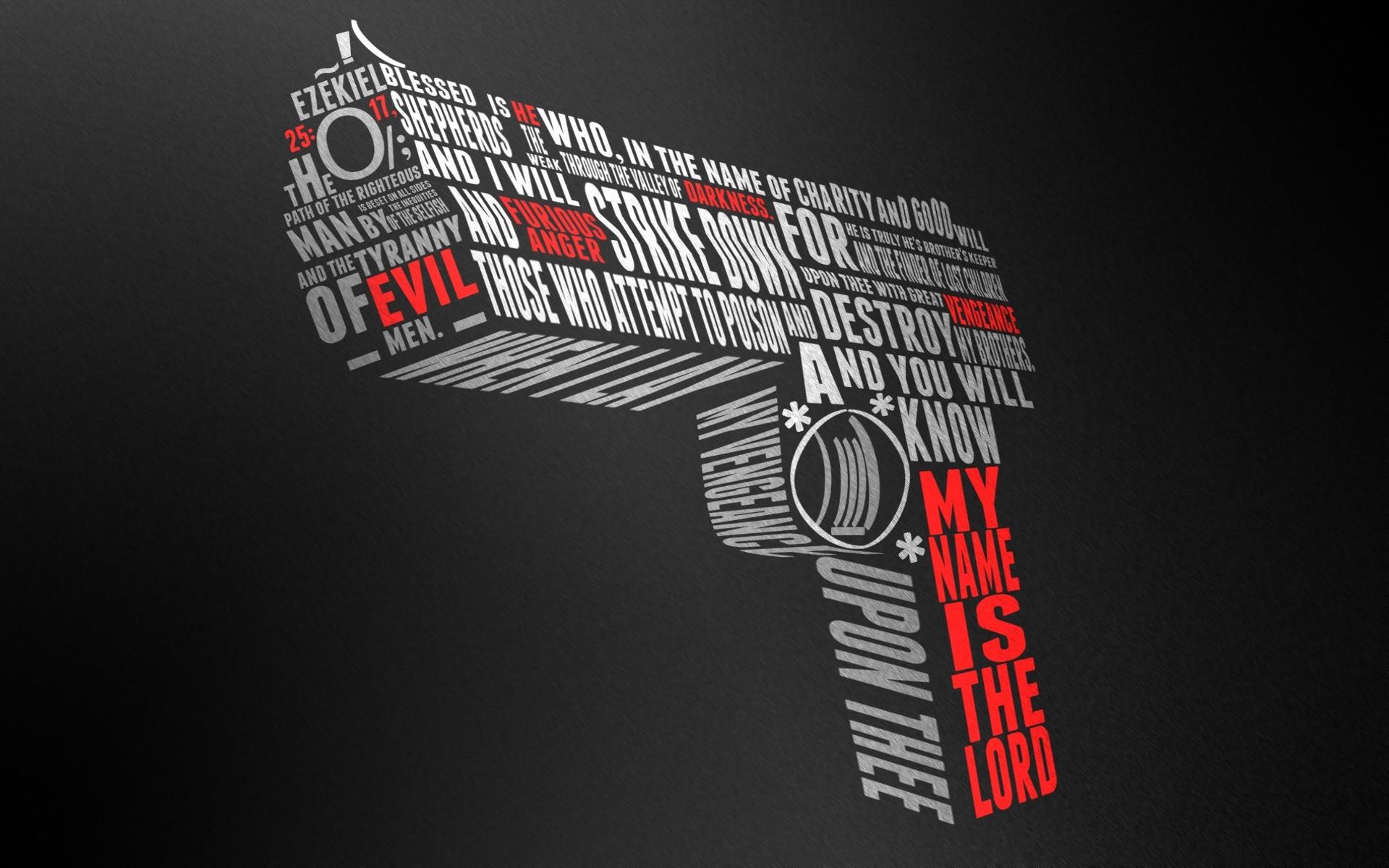 Cool Gun Drawing Youtube Ezekiel Fiction wallpapers HD free – 138965