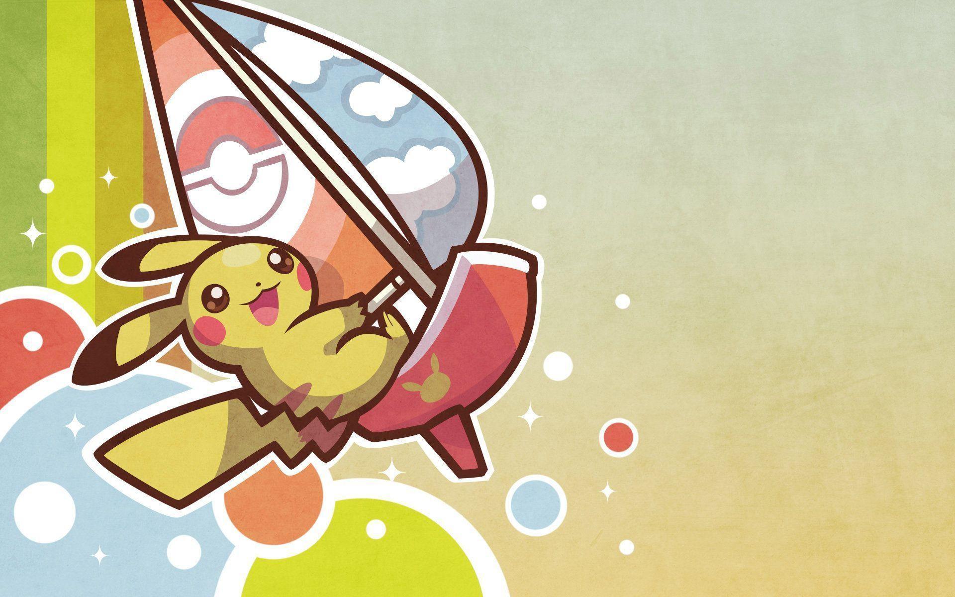 Pokemon Pikachu Wallpaper Background for