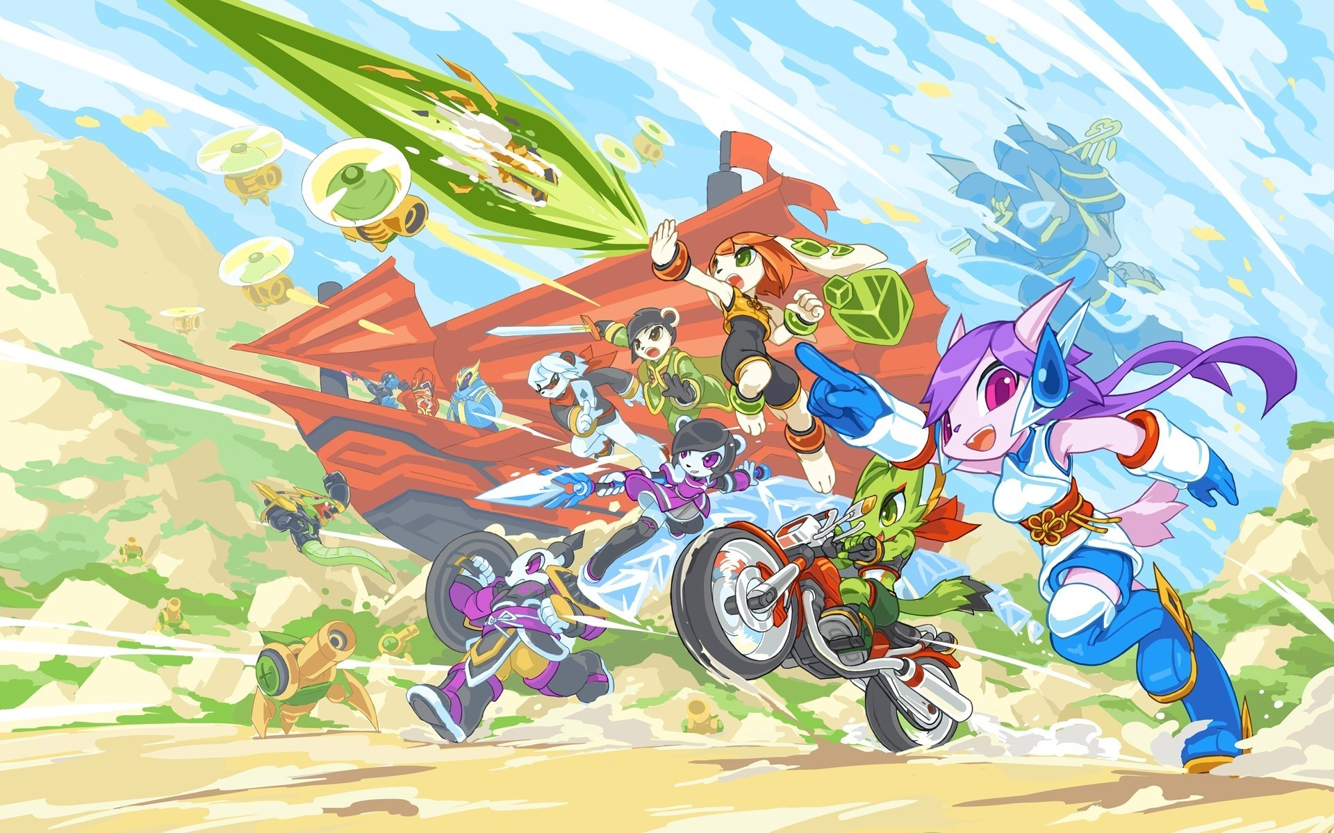 Freedom Planet, Indie Games Wallpapers HD / Desktop and Mobile Backgrounds