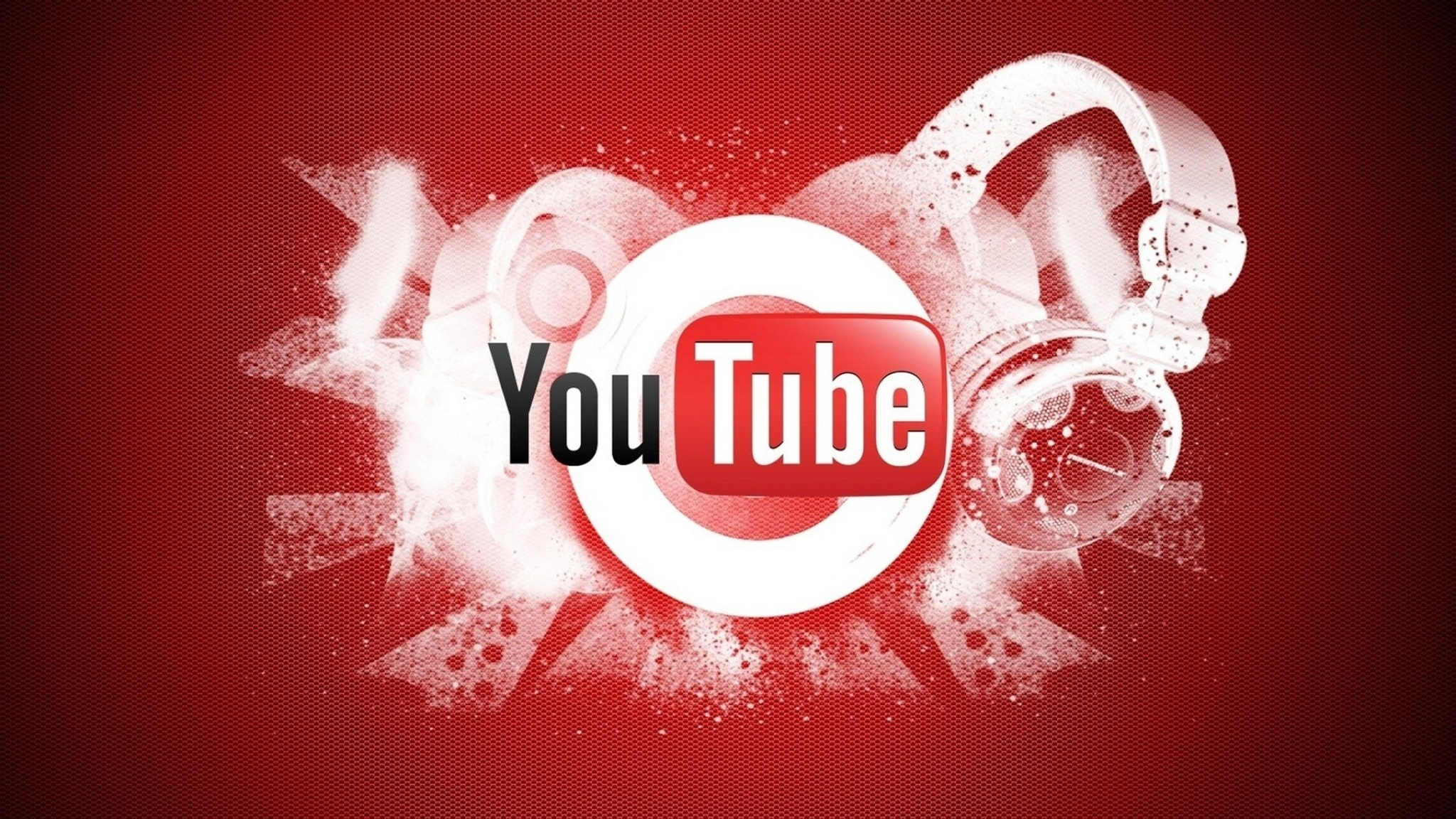 Preview wallpaper youtube, video hosting, logo, google 2048×1152