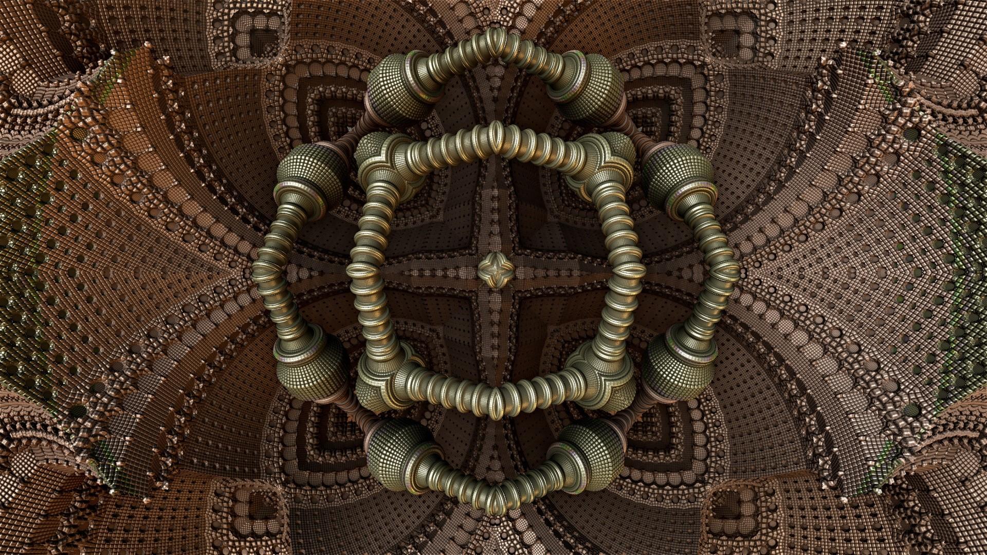 form, light, fractal