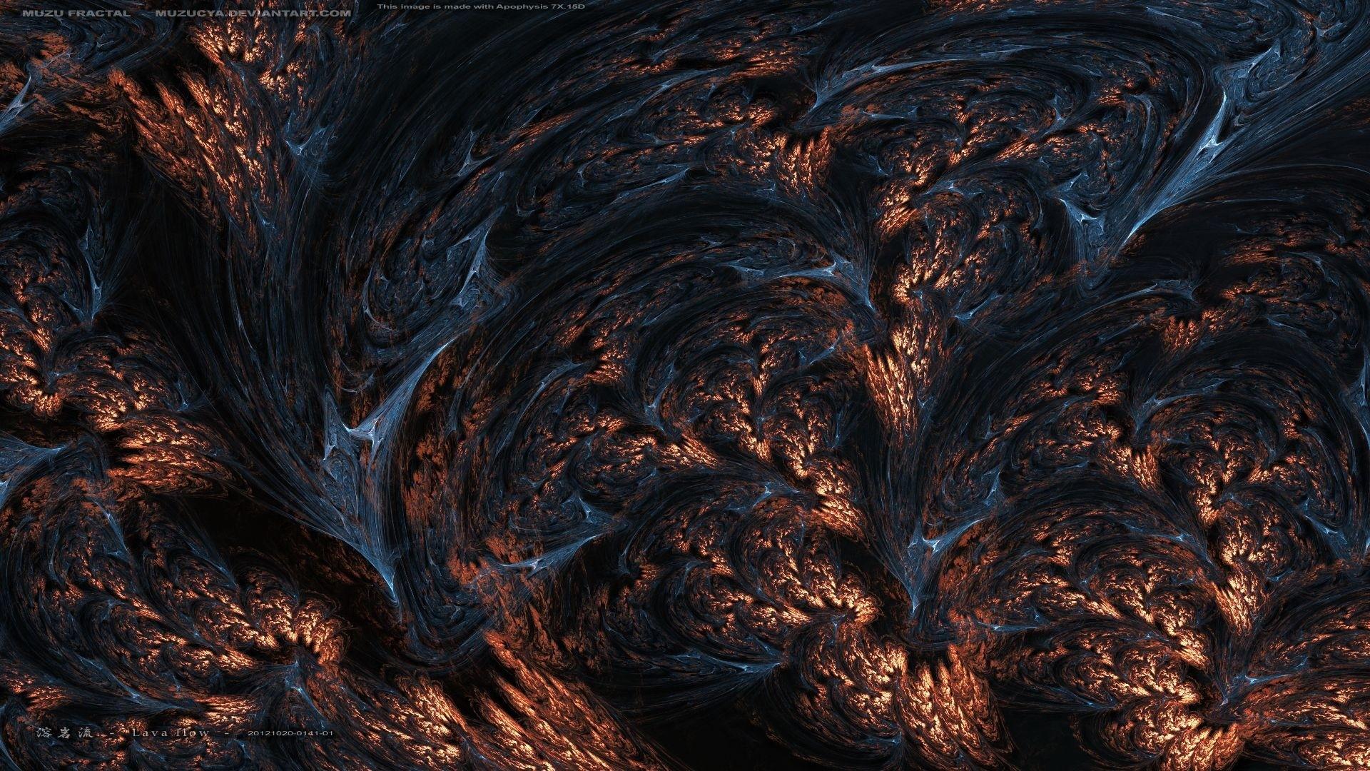 … Background Full HD 1080p. Wallpaper fractals, rocks, lava